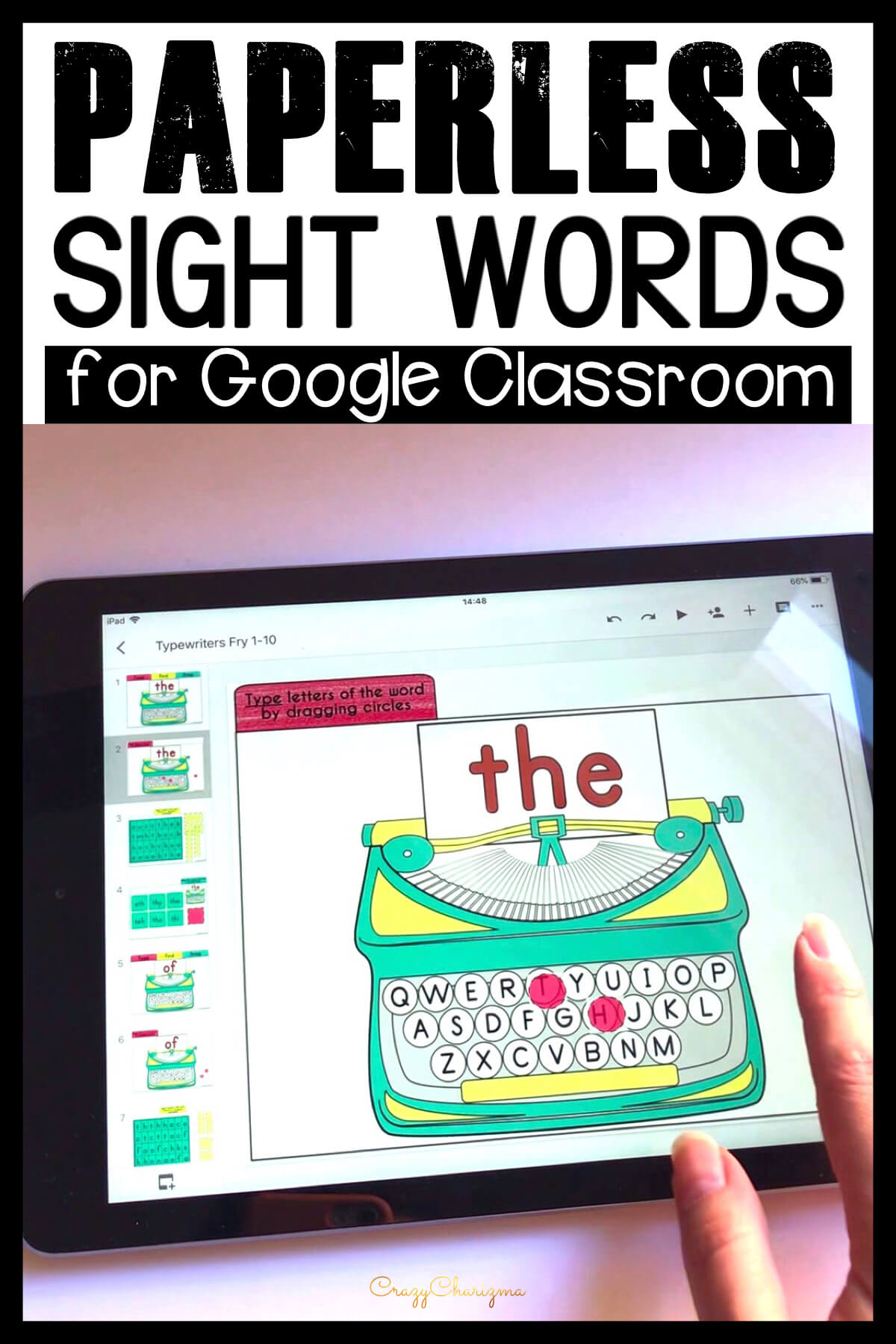 Google Classroom Activities for Kindergarten | Sight Words Games: Looking for fun Google Classroom activities for kindergarten to practice sight words? Get these games and engage kids with sight words.
