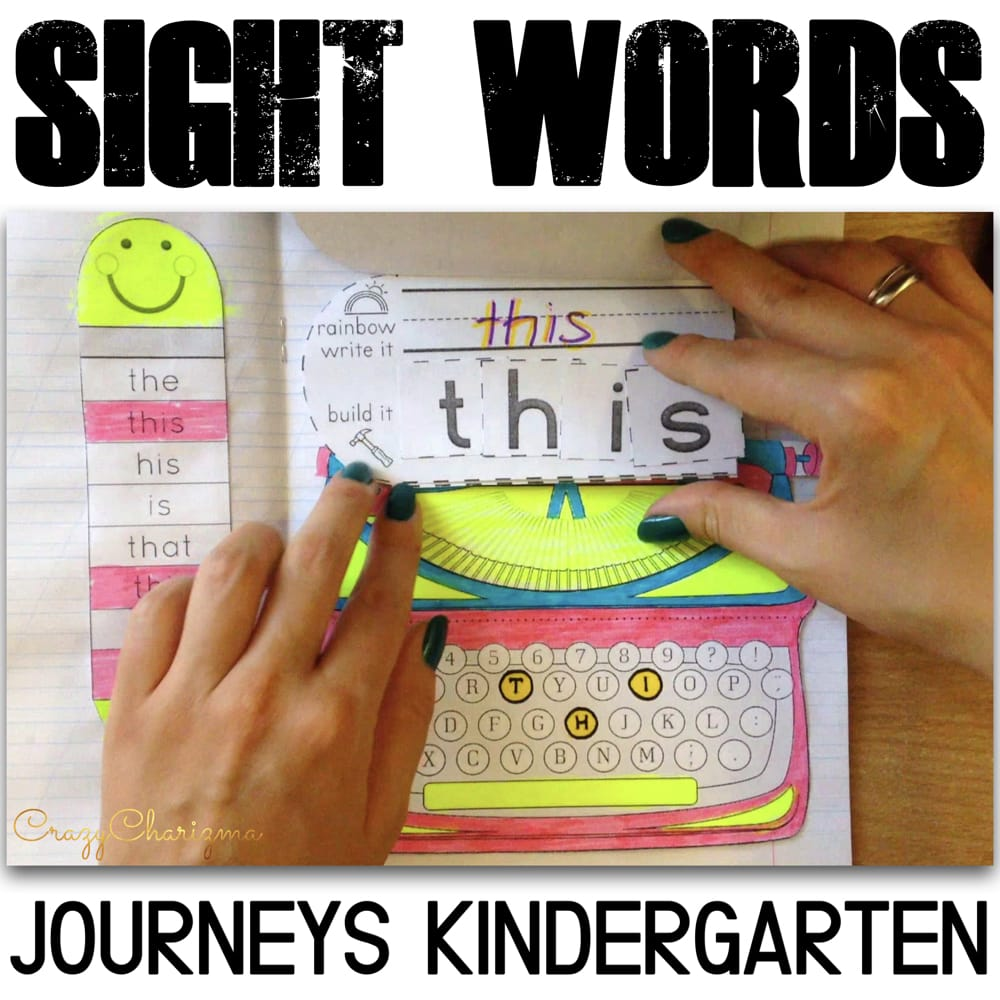 Teaching sight words is difficult? Nope! The Journeys kindergarten sight words set is something you've been looking for. Engaging. Fun. Versatile.