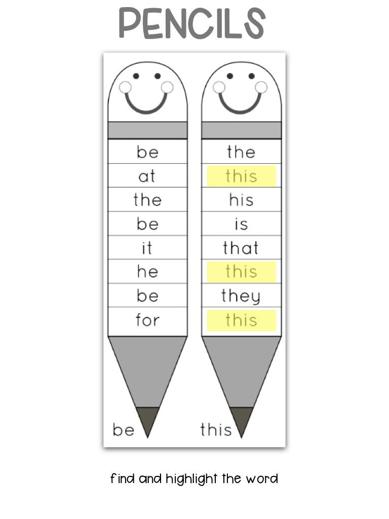 Need to teach Primer sight words to kids? Use this interactive notebook / no-prep worksheets combo. You'll get kids engaged and excited about each sight words!