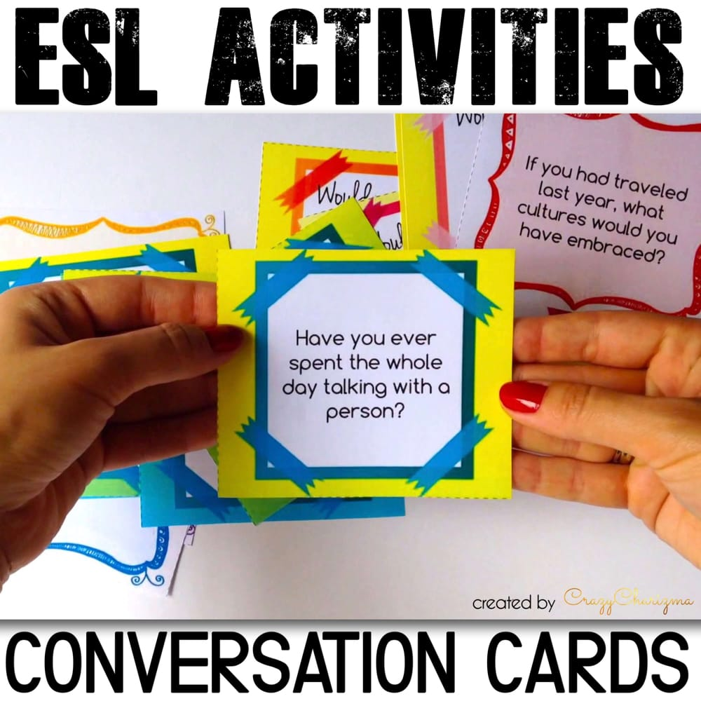 Inspire and make your students speak. Build their conversational confidence with these Have you ever? conversation cards. Practice both grammar and speaking or use the questions as writing prompts!