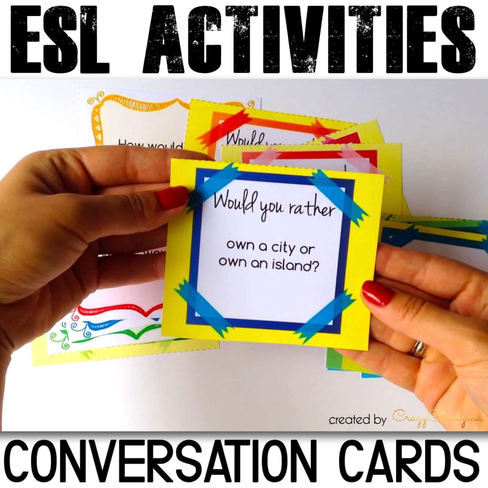 Looking for conversation starters to get ESL / ELA students to speak? Break down barriers with these 90 ice breakers. Help students build conversational confidence in an exciting way.