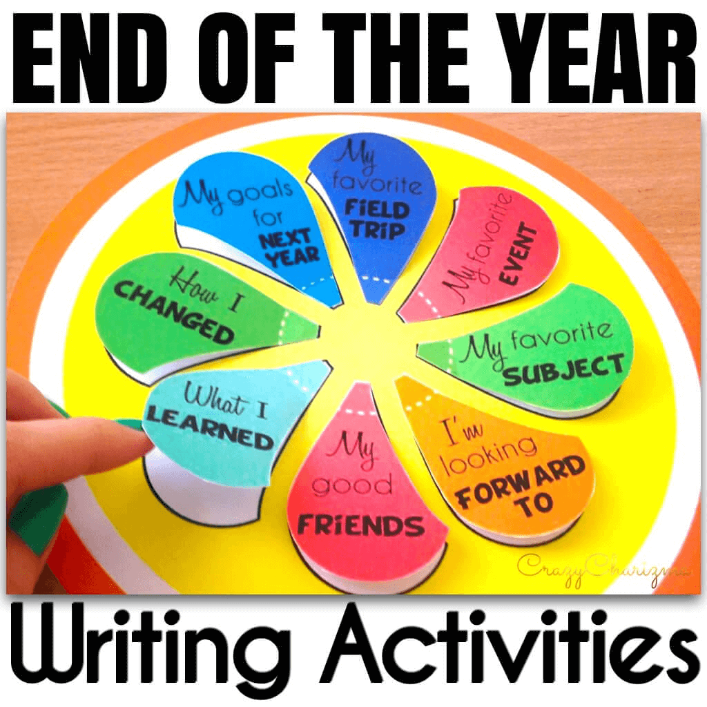 I bet you're looking for some unique activities for The End of the Year? How about a craftivity, an interactive notebook and a lollipop combined together? This is something kids will never forget!