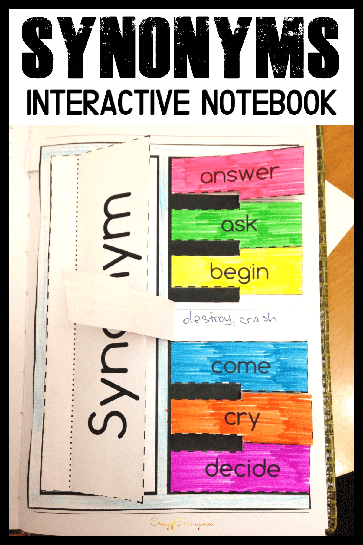 Here's a creative way to practice synonyms! Use these activities for early finishers, center work, whole class, homework or test prep.