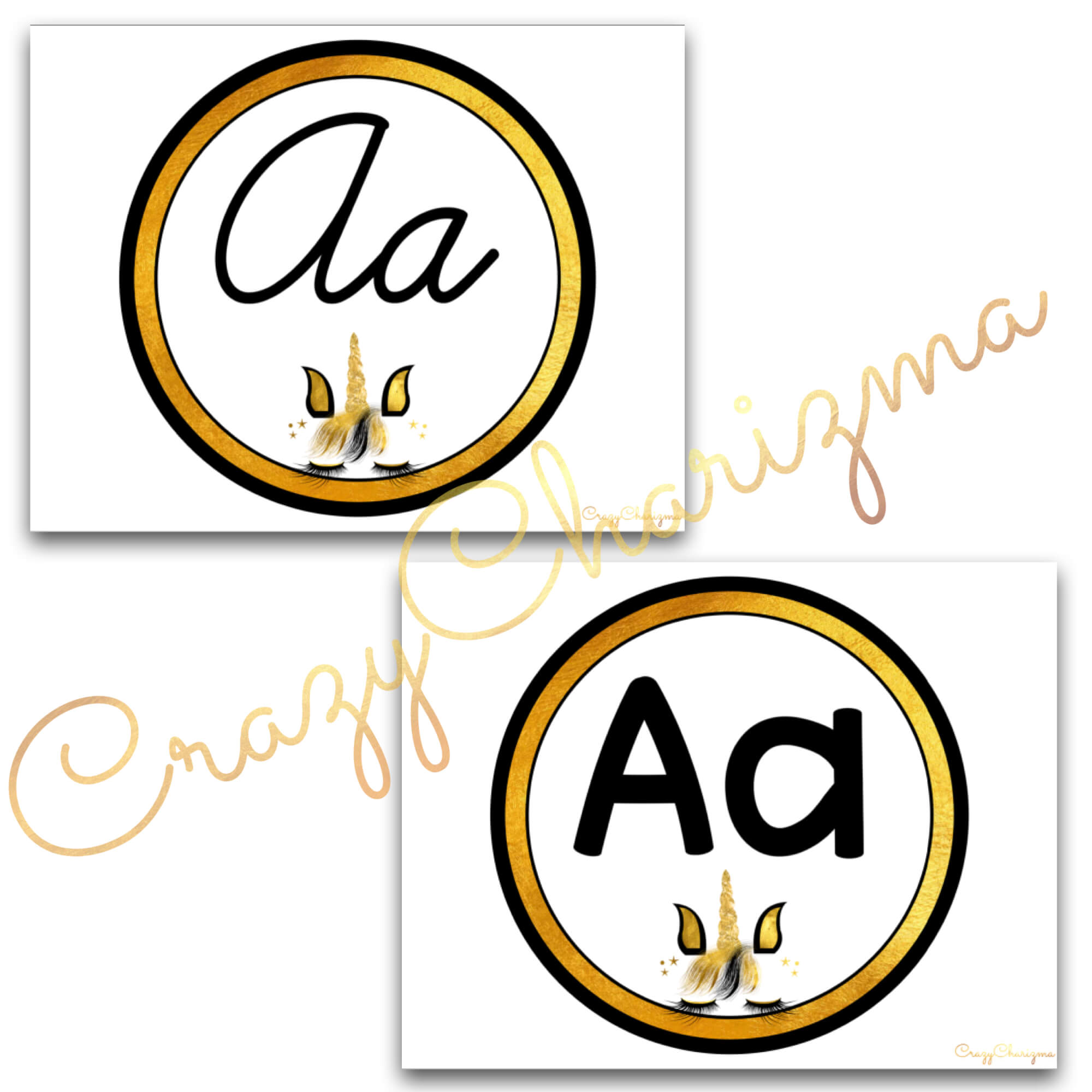 Looking for bright and clear alphabet posters? Spice your classroom with this visually appealing classroom decor!