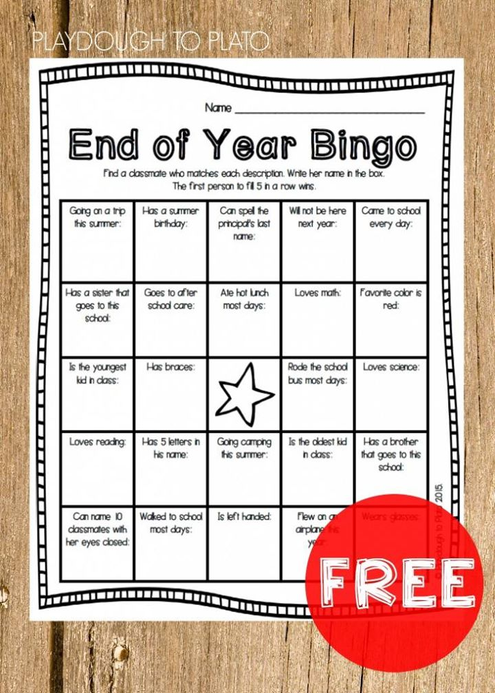 It's this time of the year when kids want something fun and memorable. Engage them with special end of the year games, activities and craftivities during the last weeks of school!