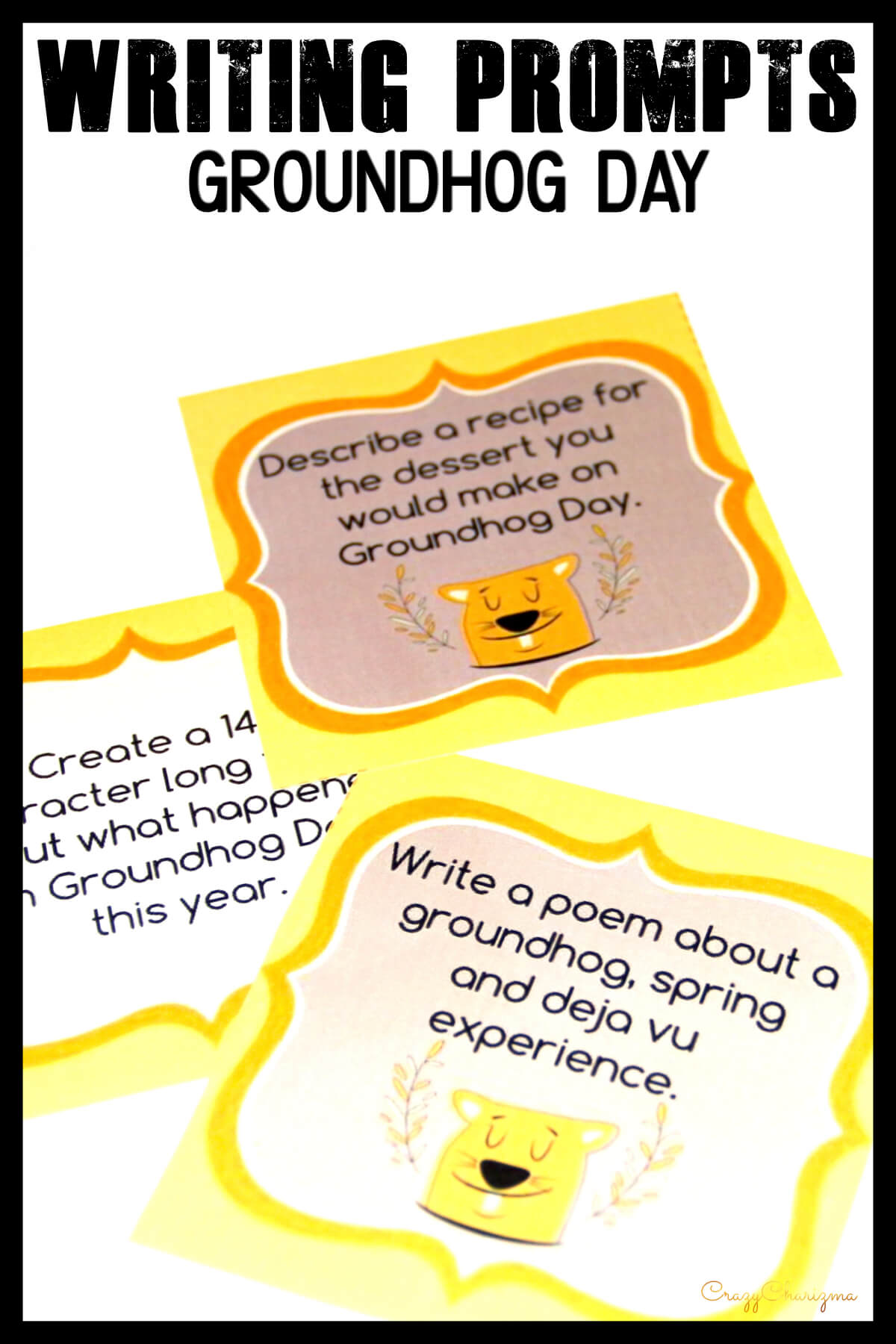 Celebrate Groundhog Day in your classroom and provide students with writing tasks and ideas. The packet contains narrative, informational and opinion writing prompts for teens. The prompts can be used as Writing Centers, as well as with adults during ESL lessons.