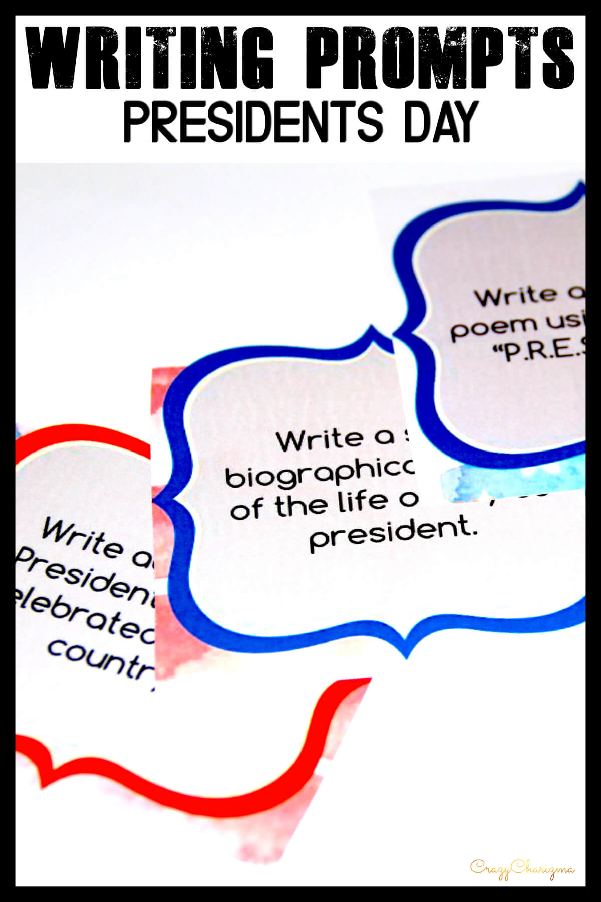 Celebrate President's Day in your classroom and provide students with writing tasks and ideas. The packet contains narrative, informational and opinion writing prompts for teens. The prompts can be used as Writing Centers, as well as with adults during ESL lessons.