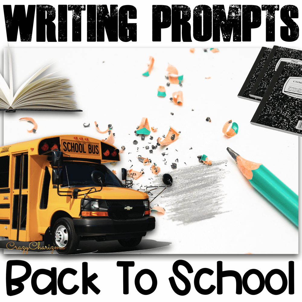 Celebrate Back to School season in your classroom and provide students with writing tasks and ideas. The packet contains narrative, informational and opinion writing prompts for teens. The prompts can be used as Writing Centers.