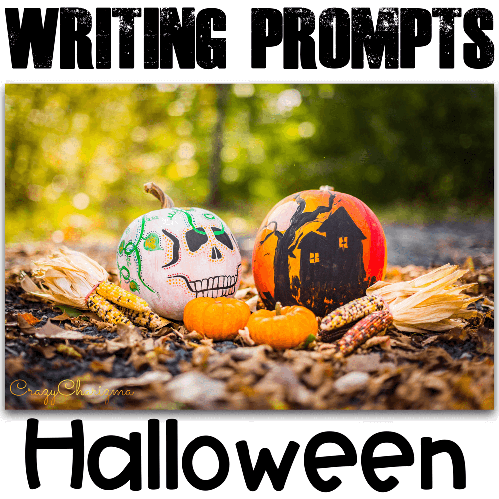 Need quick but meaningful writing prompts for Halloween? I've got you covered! Find inside the narrative, informational, and opinion writing prompts for teens. The prompts can be used as Writing Centers and with adults during ESL lessons.