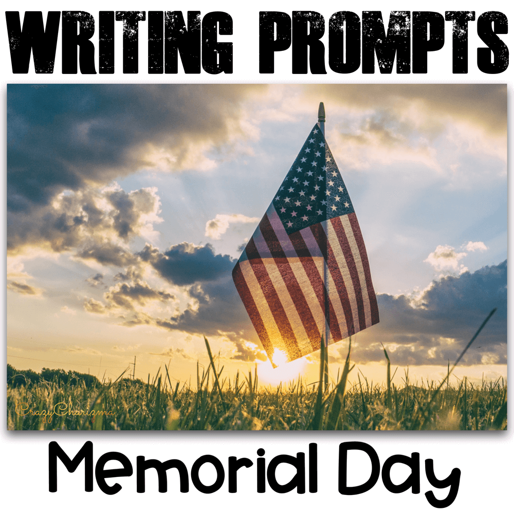 Honor Memorial Day in your classroom and provide students with writing tasks and ideas. The packet contains narrative, informational and opinion writing prompts for teens. The prompts can be used as Writing Centers, as well as with adults during ESL lessons.
