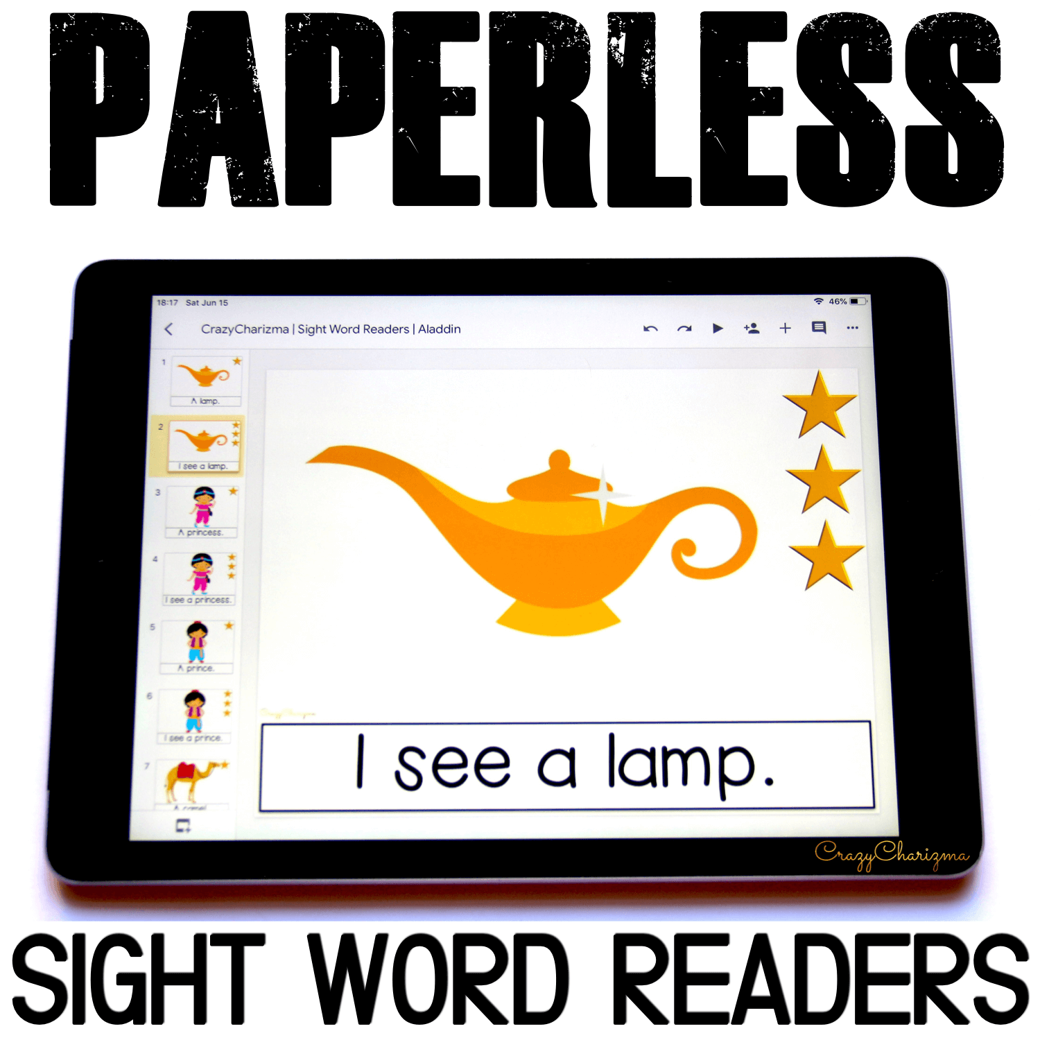 Looking for engaging sight word readers for kindergarten? Engage kids with sight words and desert adventures. Use as paperless practice for Google Classroom or print and read!