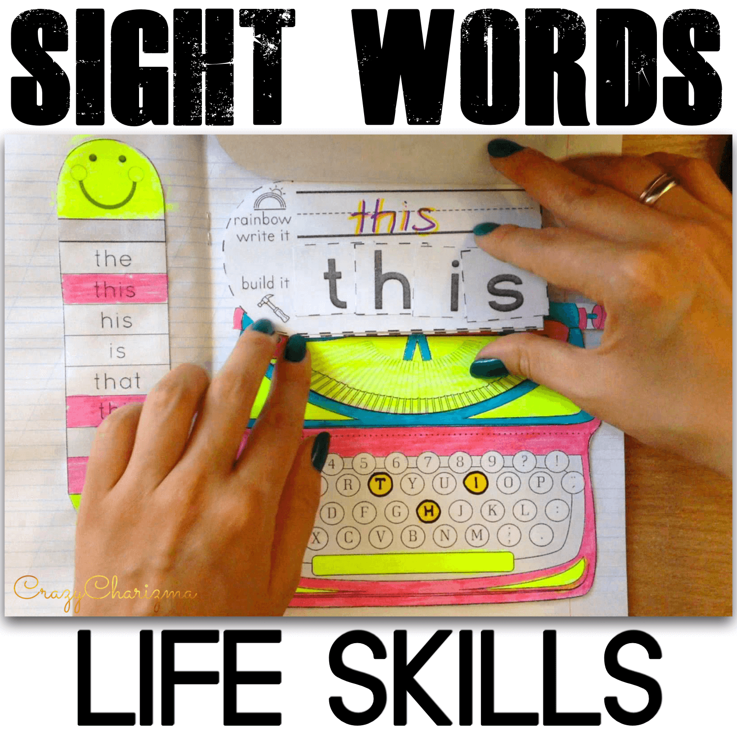 Looking for a fun way to practice Signs Around You words? Use these typewriters - interactive notebooks! This is an engaging way for your kids to learn the Functional Words. This typewriters interactive packet contains 119 pages which are easy for the students to understand and perfect for Kindergarten and Grade 1.
