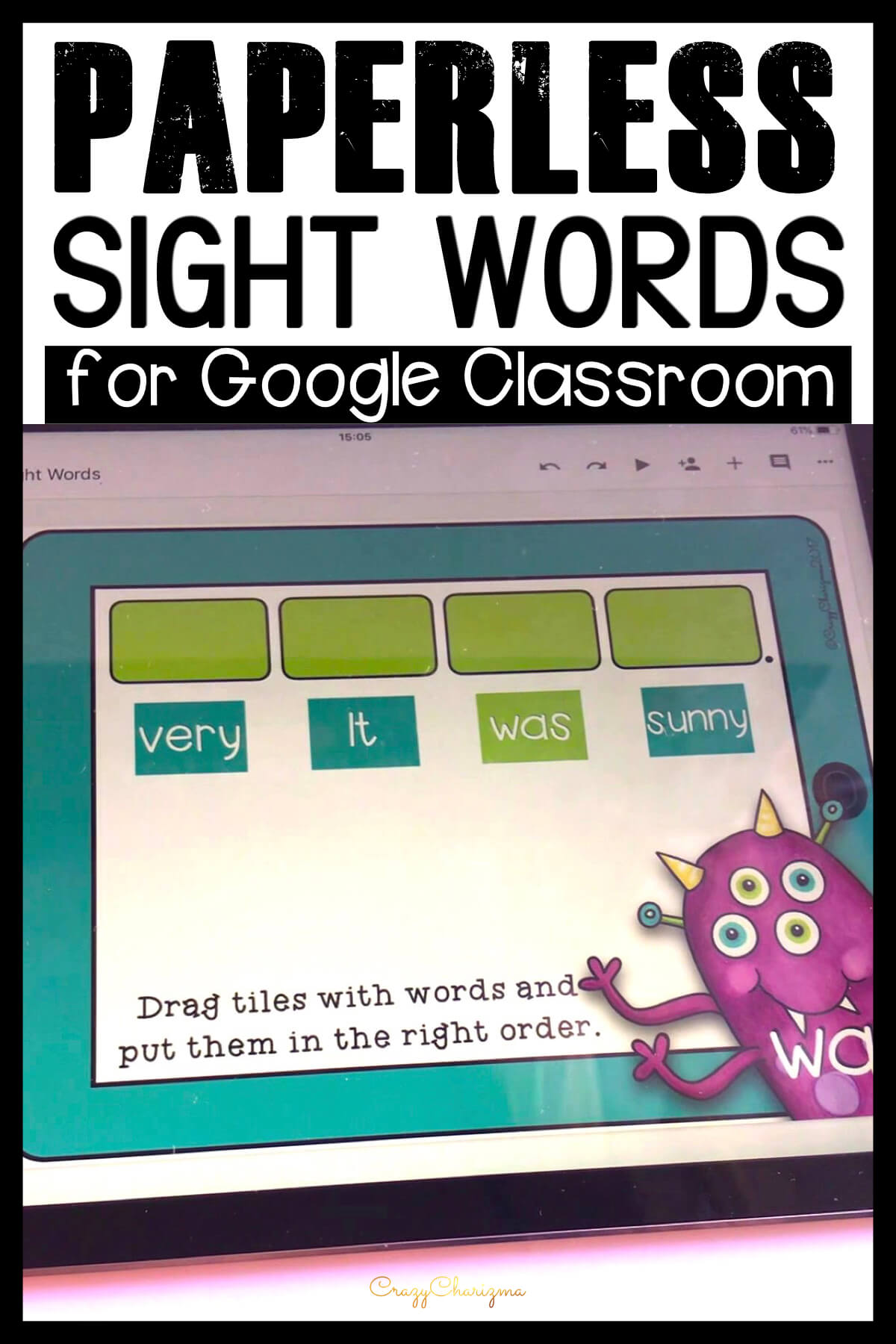 Want to try games for Google Classroom? Need a quick solution to practice sight words and CVC words? Grab this starter kit with interactive slides perfect for iPads, Chromebooks, laptops and tablets!