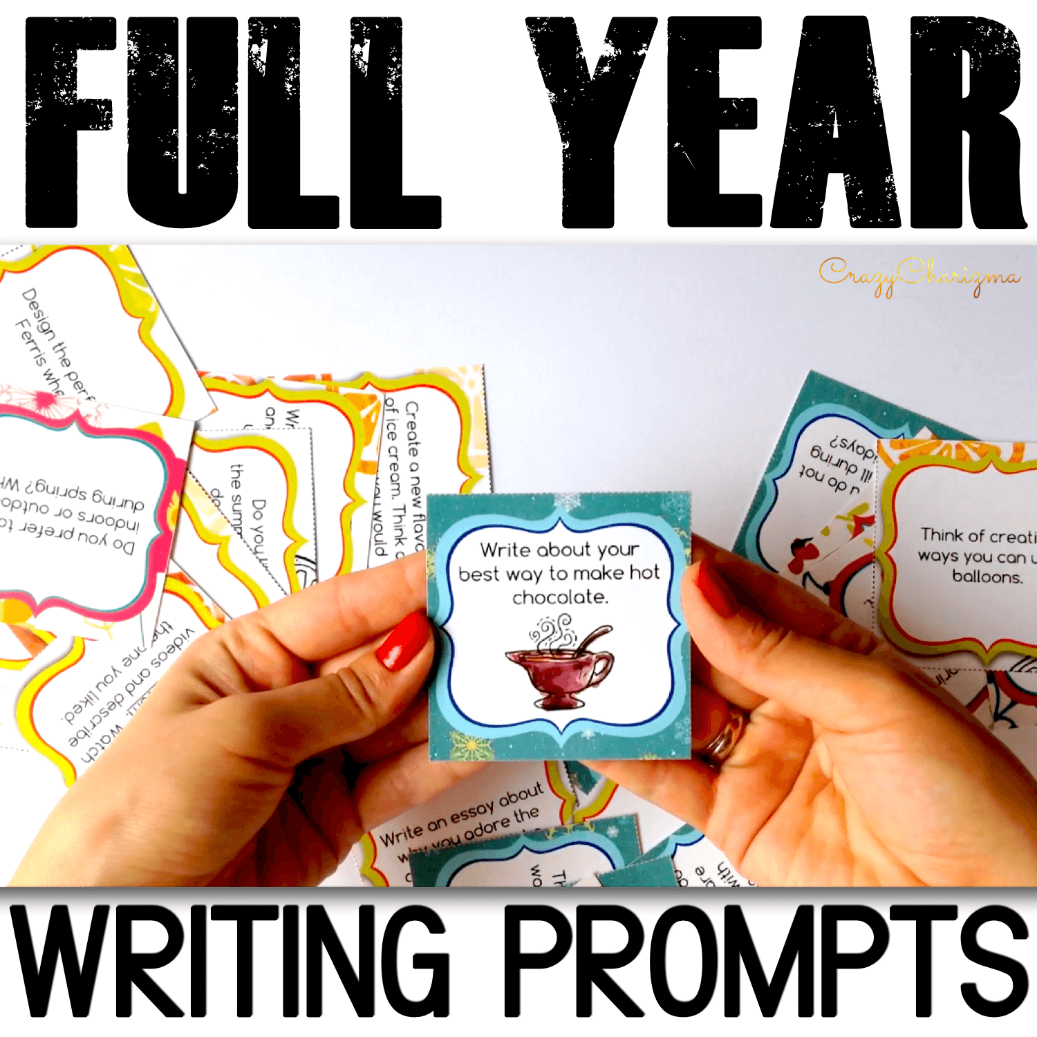 Looking for creative writing prompts for teens in middle school? Build essential writing and speaking skills from the beginning of the year to the last day of school. Perfect for small groups, as a homework assignment, as literacy centers or as independent centers work.