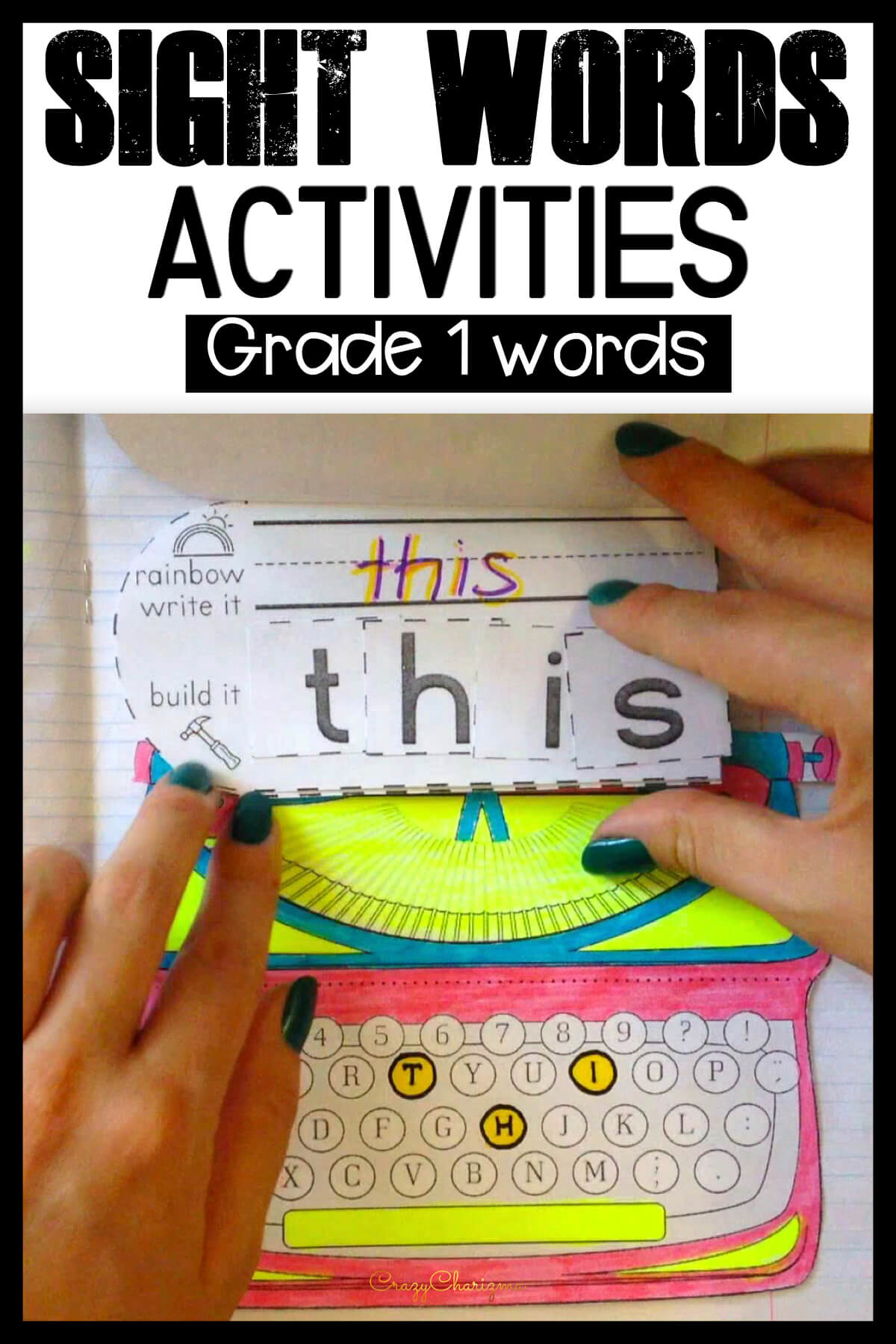 Looking for fun, engaging, but effective and memorable sight words activities to practice words from First Grade List? Grab this set and get kids excited with high frequency words!