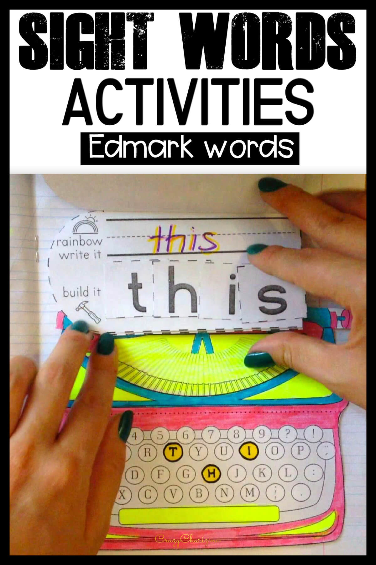 These activities for kids provide engaging, hands-on ways to build up sight words knowledge and increase reading skills. Use the packet as interactive notebooks or no-prep worksheets and master high frequency words.