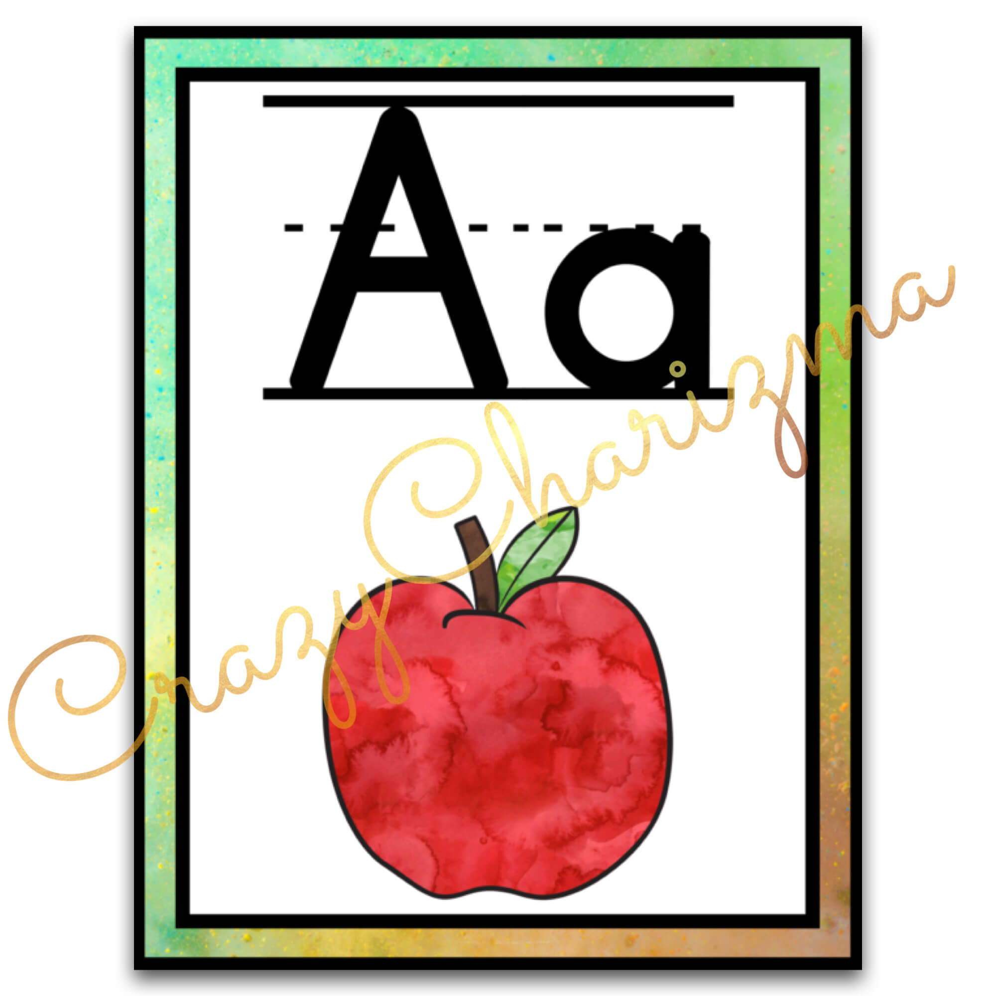 Looking for bright and clear alphabet posters? Spice your classroom with this visually appealing SPLASH classroom decor!