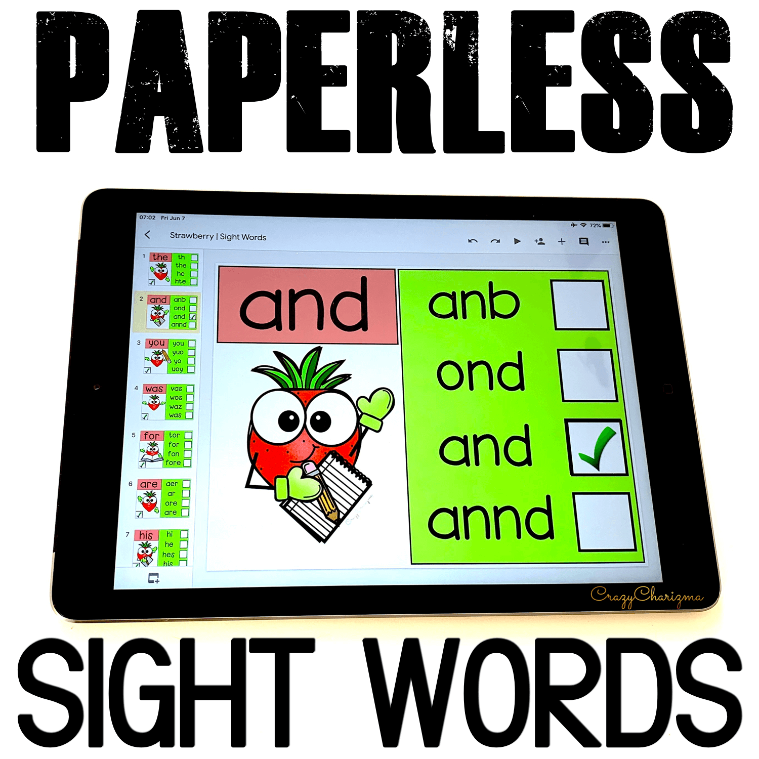 Need a bright and memorable activity to practice sight words? Grab these Google Classroom activities for kindergarten. Engage kids with tech and reading at the same time!