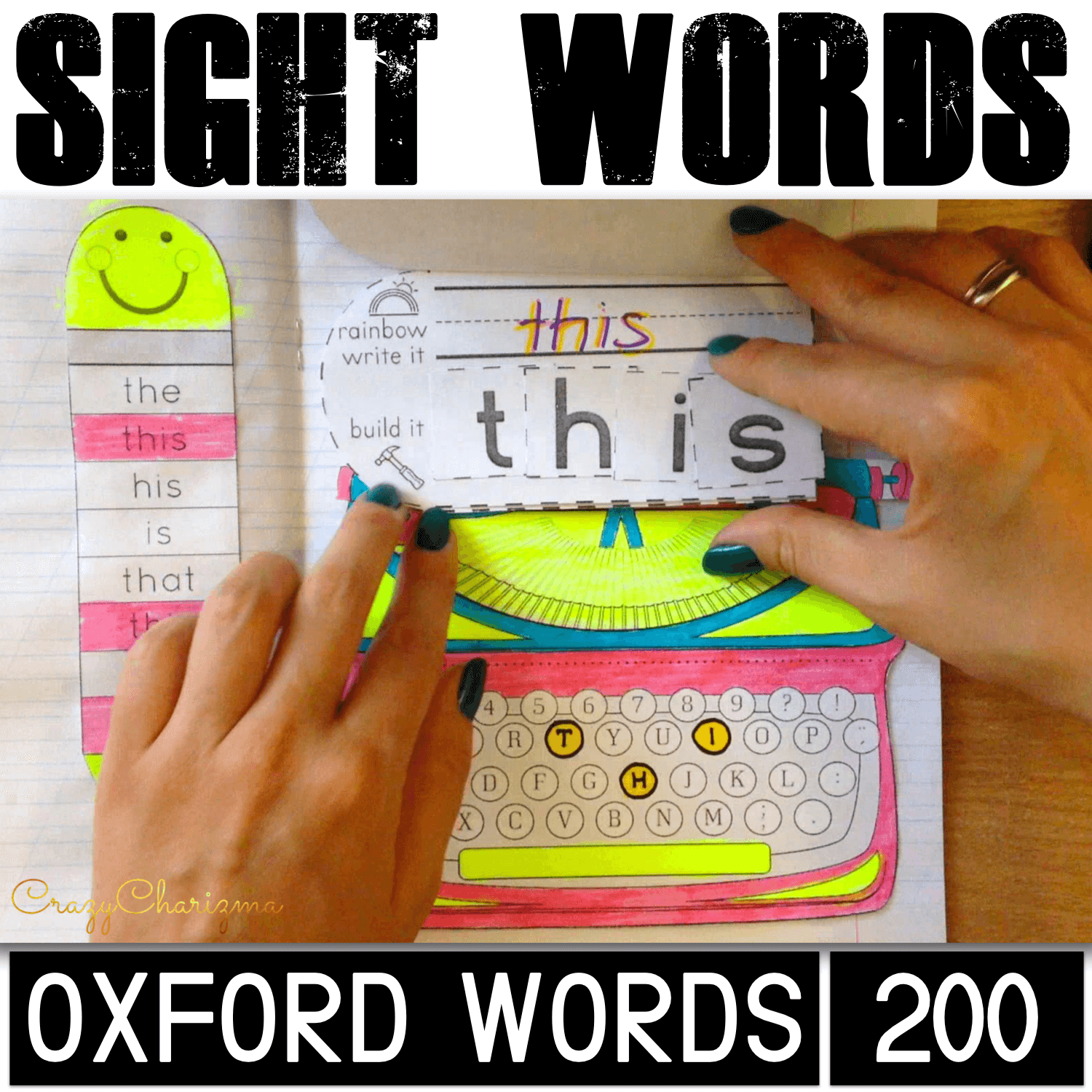 Use these Oxford sight words activities to practice high-frequency words with kids. Have fun with these printables which can be used as interactive notebooks or no prep worksheets