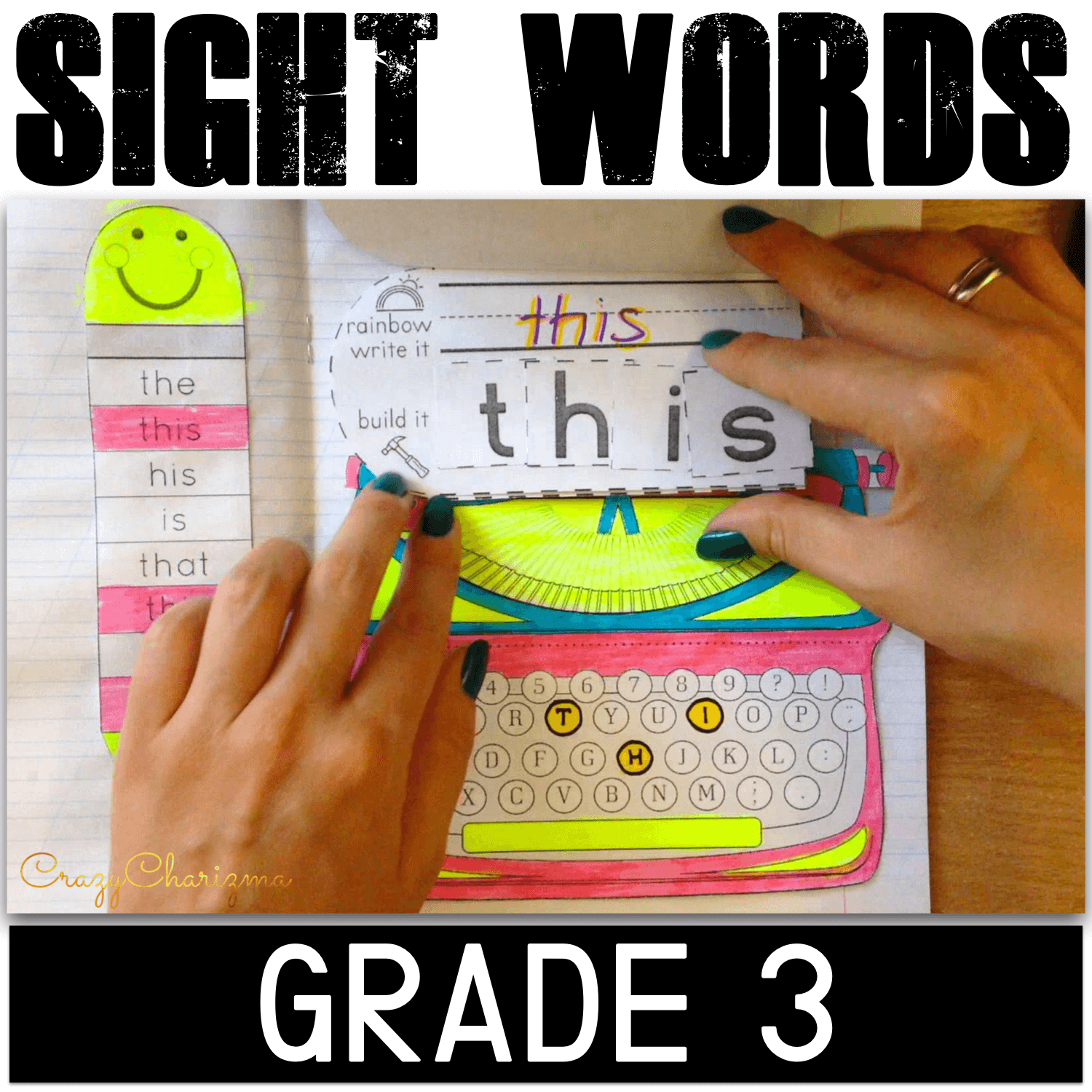 Get these Grade 3 sight words activities to practice high frequency words. Use as interactive notebooks (choose as many types of activities as you need) and/or no-prep worksheets (just print and go).
