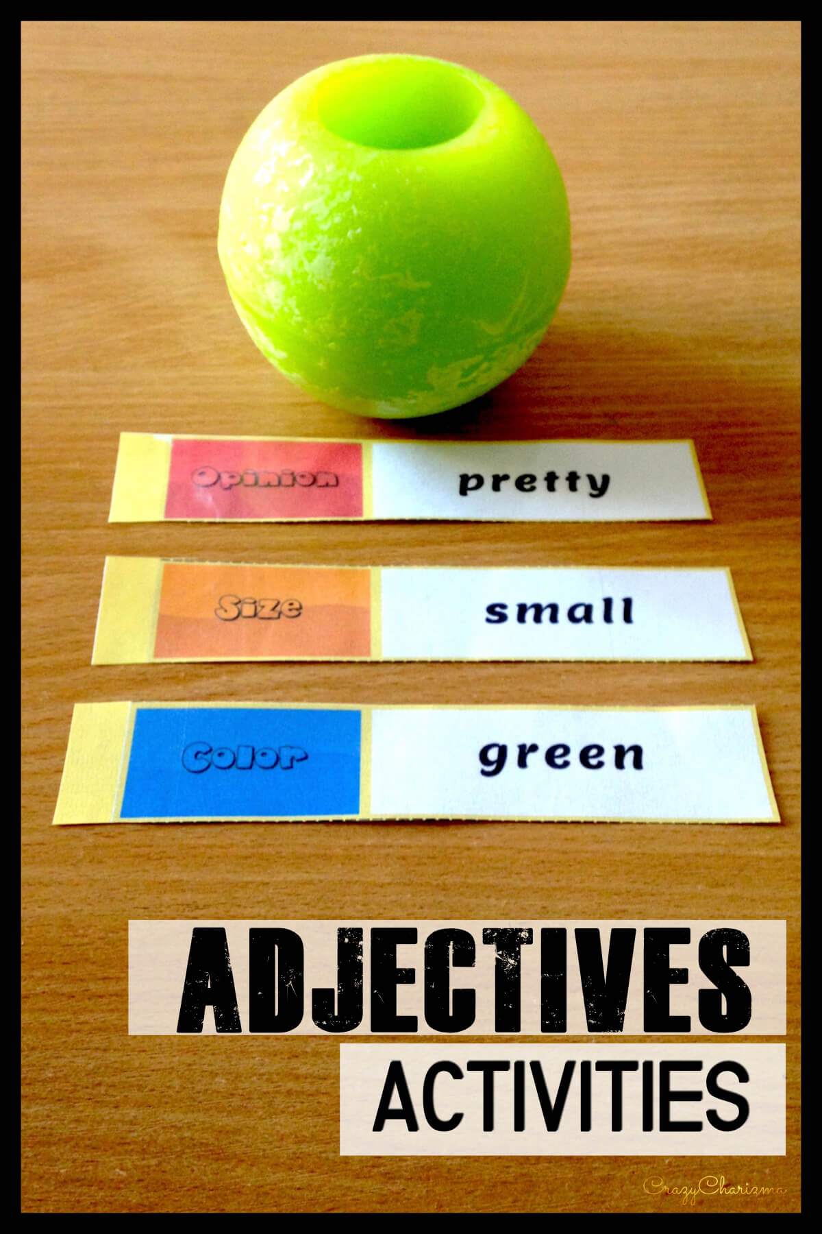 Teaching Ordering Adjectives can be challenging but not with this bright and helpful Spiral Notebook! Your kids will definitely love these activities and teaching the topic will become easy and fun.