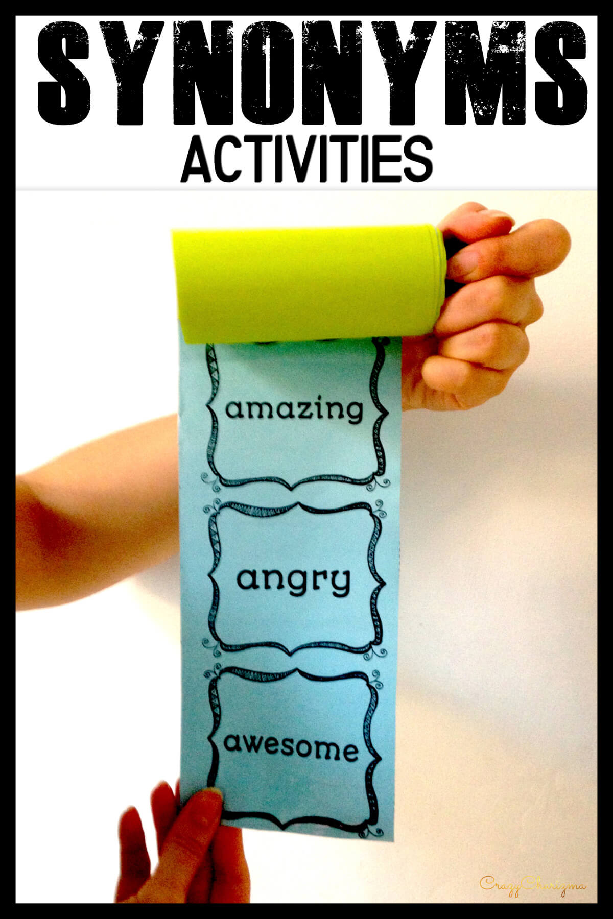 Do you need a variety when teaching synonyms and antonyms (opposites)? Here's a creative way you've been looking for! Use 11 activities for early finishers, center work or whole class. This resource can be easily used as test prep.
