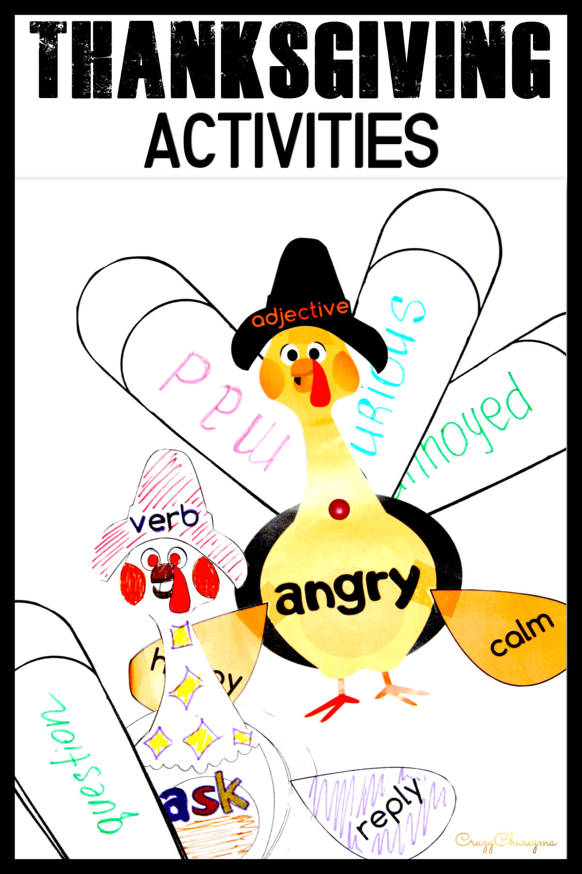 Do you need to practice various synonyms and it's November? Then use these turkeys and practice not only synonyms, but also opposites with your students! They will love these interactive and engaging activities.