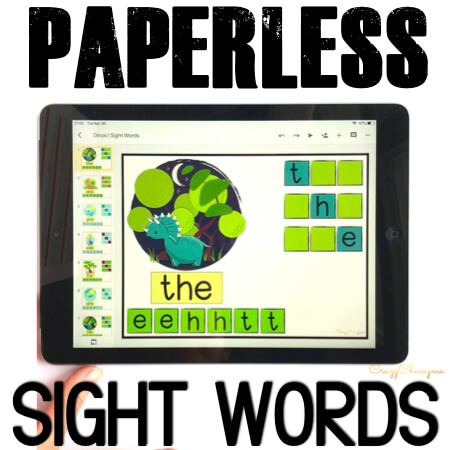Google Classroom Activities for Kindergarten. Sight Words Games. Need quick, fun and easy to use sight words games? Grab these Google Classroom activities for kindergarten to practice sight words. Engage kids with tech and reading at the same time!