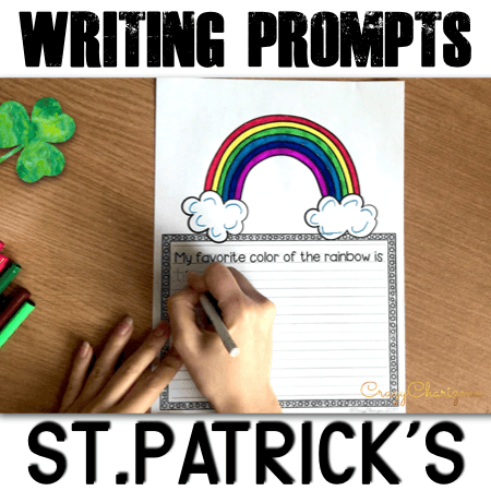 It's time to celebrate St.Patrick's Day and you need quick and fun writing prompts for kindergarten kids? Your students will have fun writing about the symbols of St.Patrick's Day, think what would happen if they found treasure, if they were leprechauns and much more!