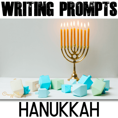 Looking for engaging Hanukkah writing prompts? Students will think and write about all things Hanukkah: how to celebrate Hanukkah, its traditions and food, symbols of Hanukkah (menorah, dreidel, gelt) and much more!