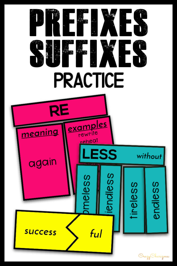 Prefixes and suffixes can be tricky and challenging for students. But they shouldn't be! Use these fun puzzles for at least 4 weeks (or every time your kids ask for them!). Students will play with prefixes/suffixes, their meanings, and word examples.