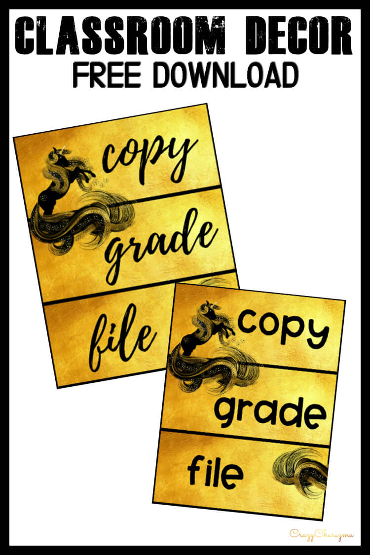 Looking for bright and clear classroom decor labels? Spice your classroom with this visually appealing classroom decor!