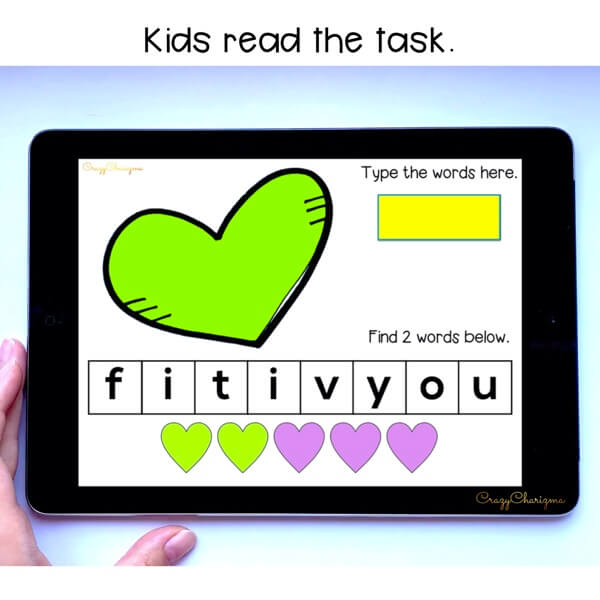 Need engaging Valentine's Day activities for kindergarten? Have fun practicing sight words and let kids engage with reading high-frequency words. This paperless set is perfect for Google Classroom and Google Slides.