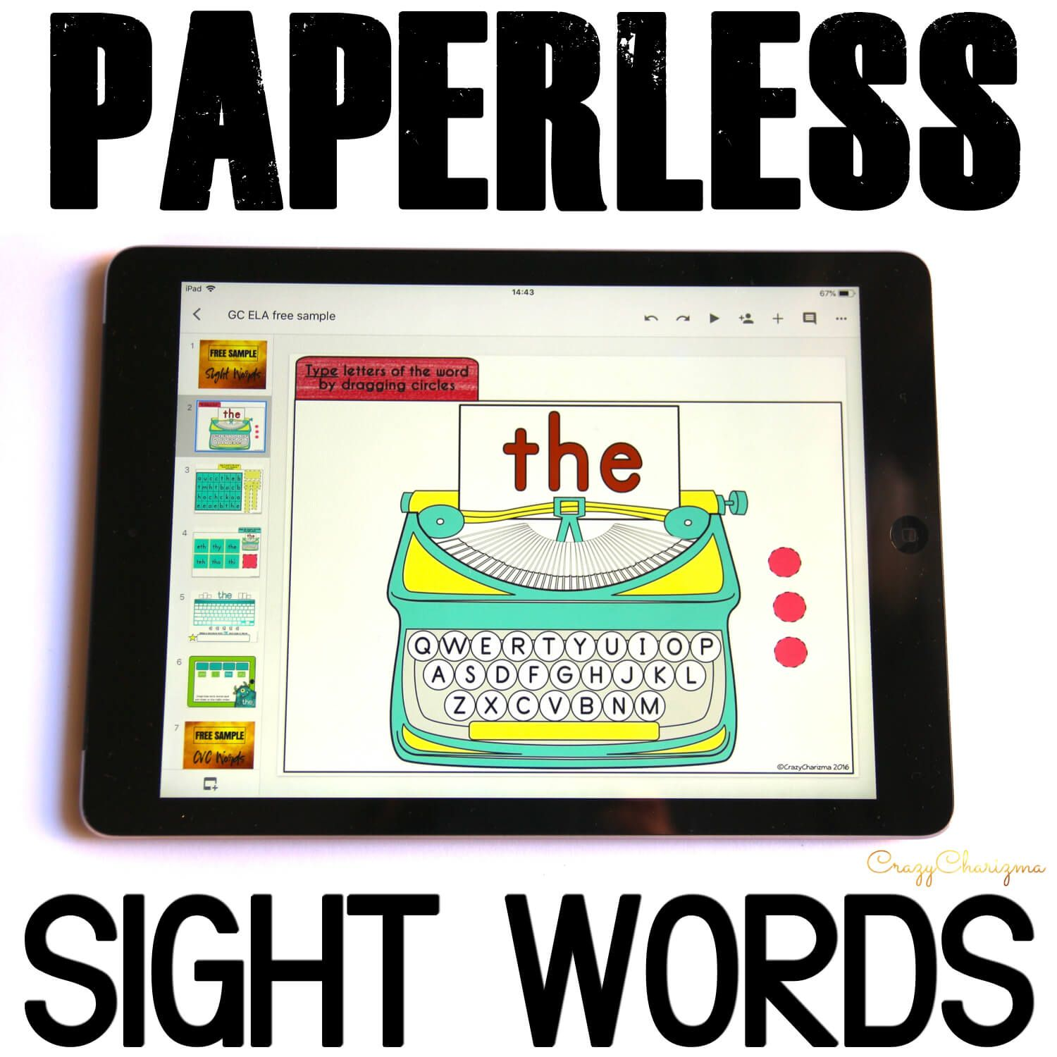 Looking for fun Google Classroom activities for kindergarten to practice sight words? Get these games and engage kids with sight words.