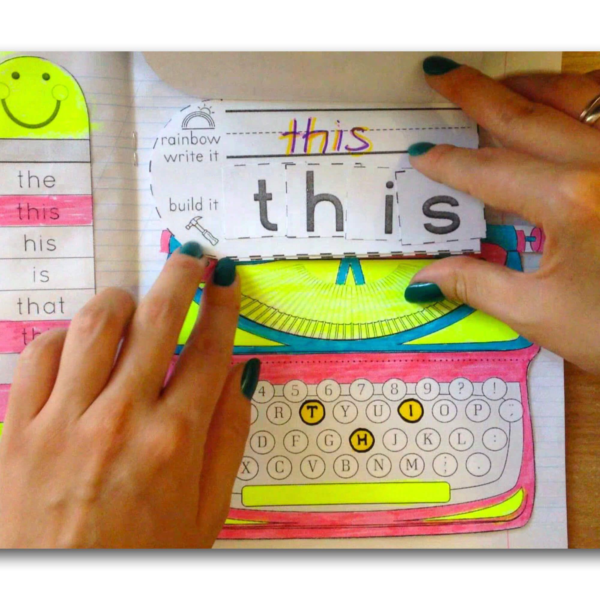 Interactive notebooks for kindergarten (freebie included)