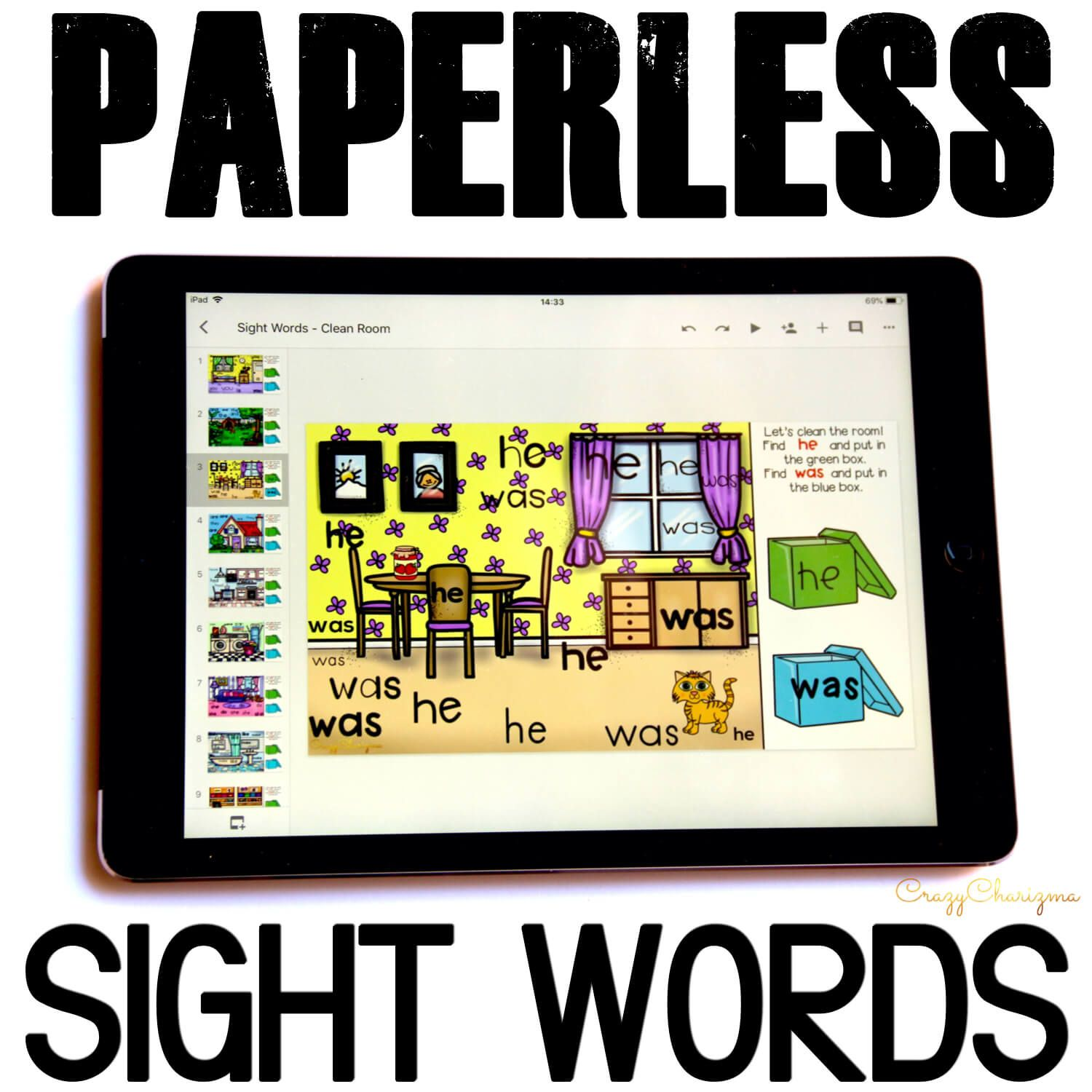 Do you need a new way to teach sight words in kindergarten? Check out Google Slides and Google Classroom activities! Get kids engaged and let them play with sight words!