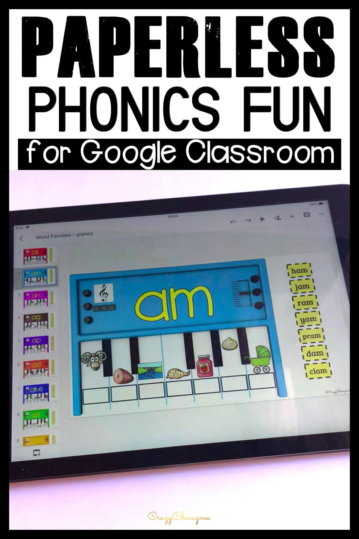 Do you need to practice phonics on iPads, Chromebooks or smartboards? Use these activities for Google Classroom™. The games are perfect for 1:1 work, during your literacy block, daily 5, guided reading, spelling, RTI, or during literacy centers.