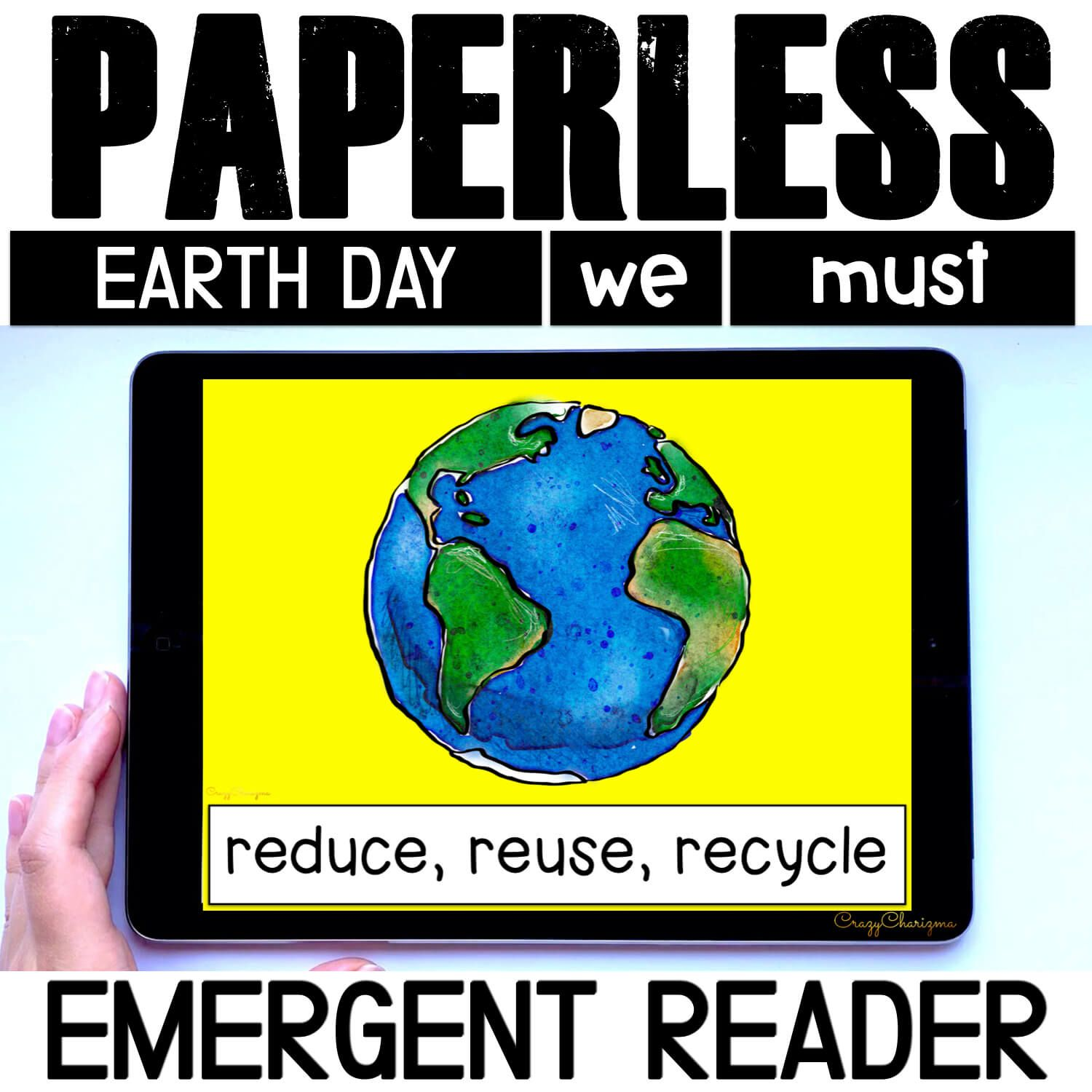 Looking for an engaging emergent reader for preschool and kindergarten? Want to introduce Earth Day to kids? Read with this sight word reader! Use these Earth Day activities for Google Classroom or print and read! Great as a guided reader or for individual practice.