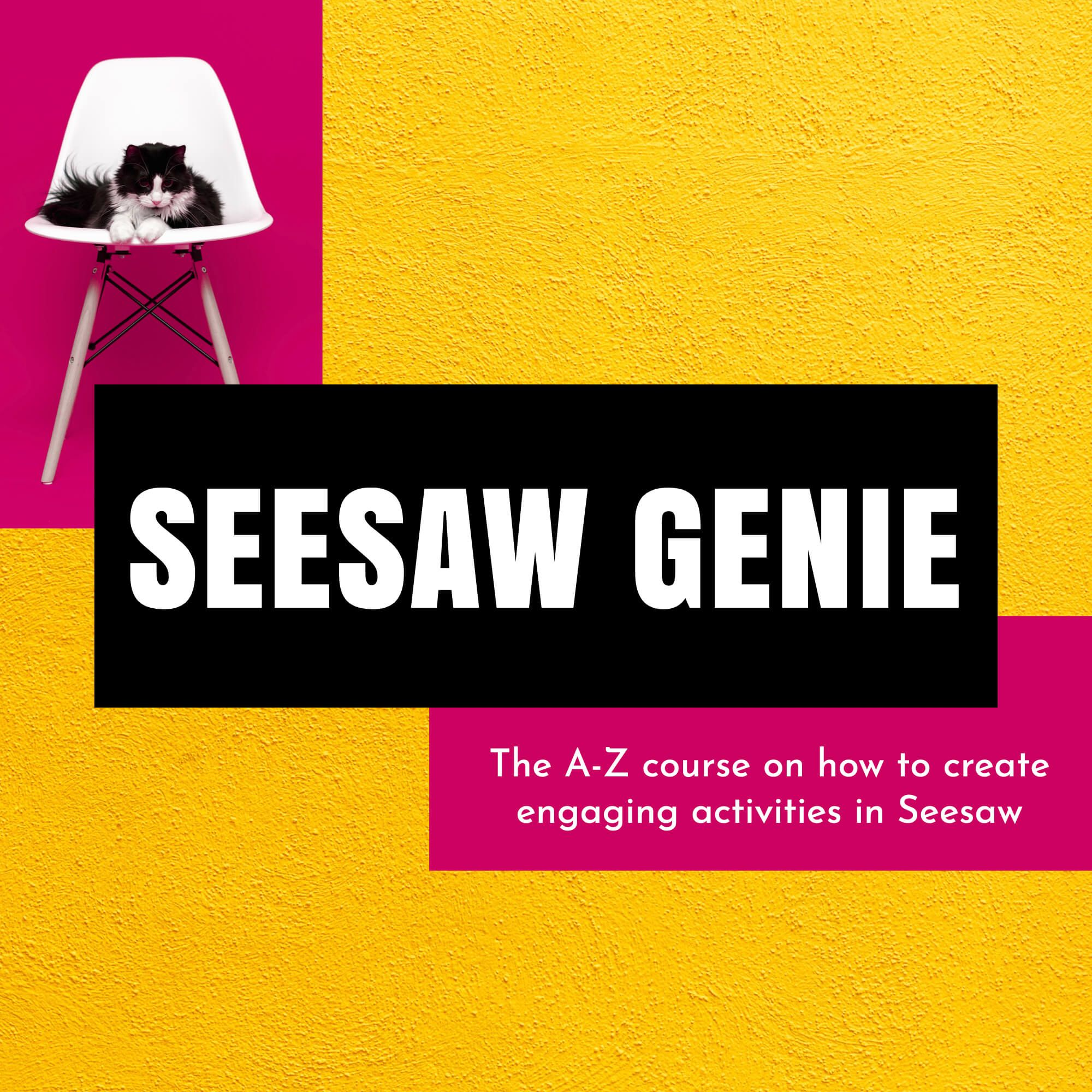 How to create Seesaw activities