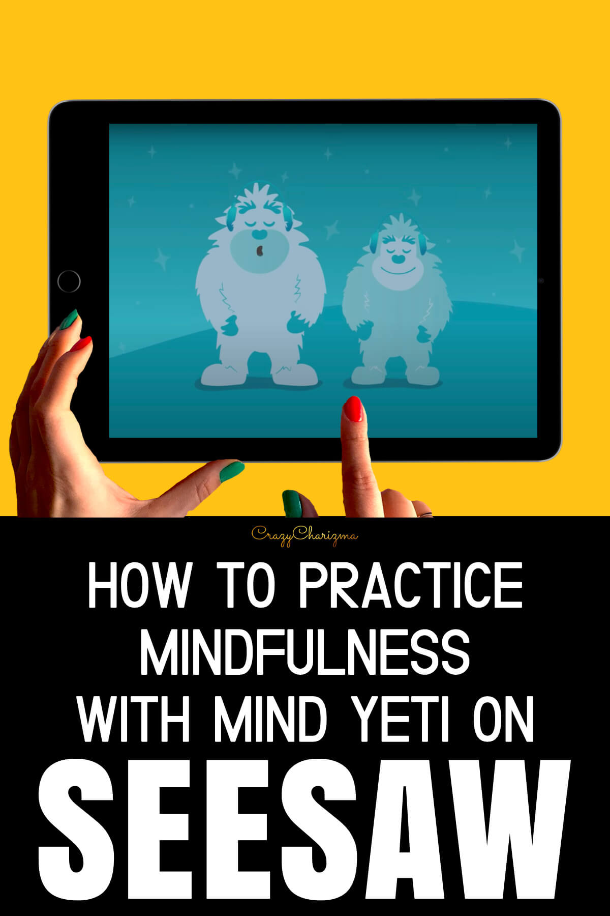 It's so important to teach students how to practice mindfulness in the classroom. It's even more important to learn how to do that during distance learning. With the videos and audio sessions from Mind Yeti, as well as activities in Seesaw, teachers and students can create a mindfulness practice together.