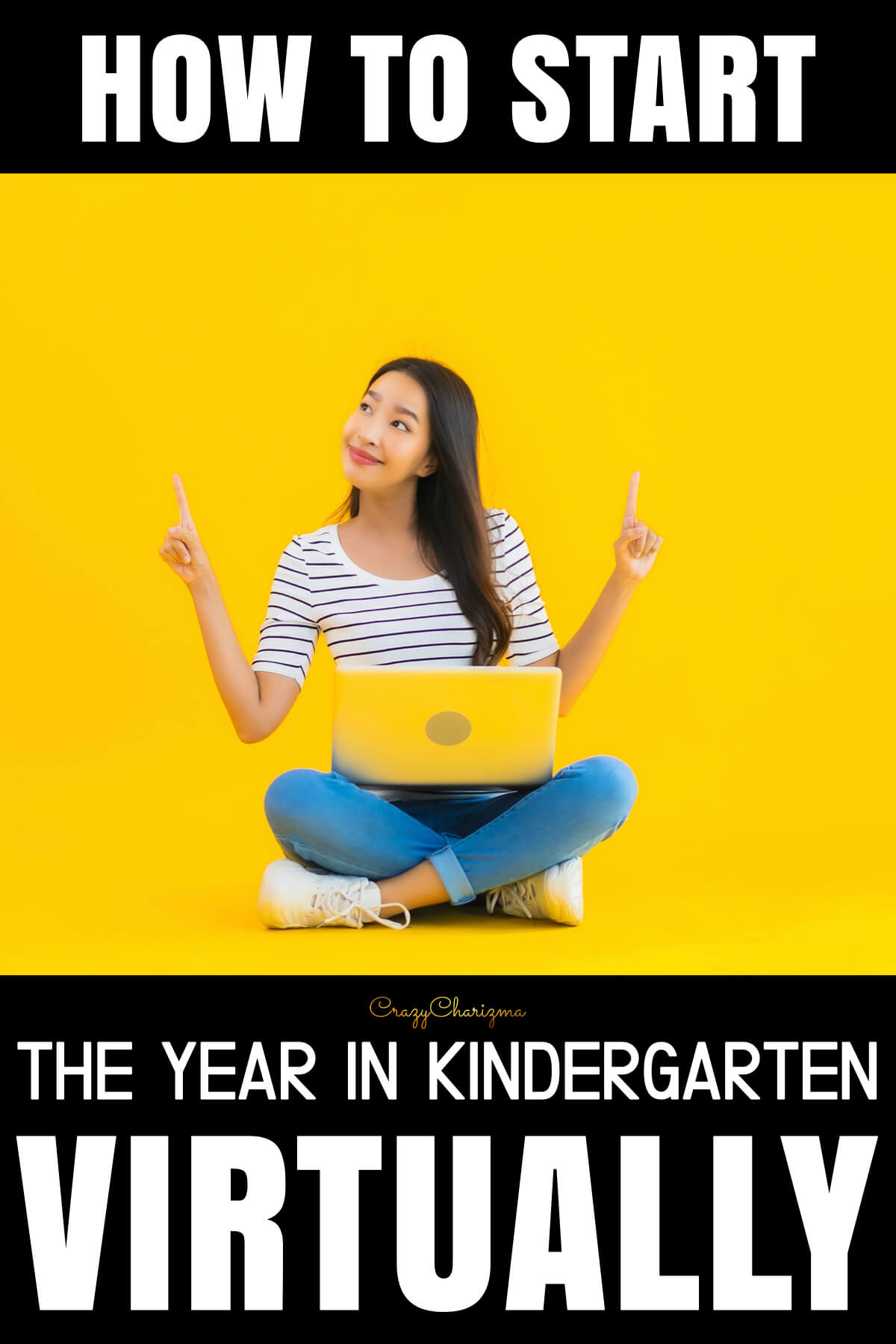 How to start the year in kindergarten virtually? Nobody has the right answer. Whether you are starting this year with social distancing, have remote learning, or a hybrid, nobody knows the right procedure. It's trial and error. And that's ok. What I want to share with you is what you can try and see if this works for you. Click to read the post!