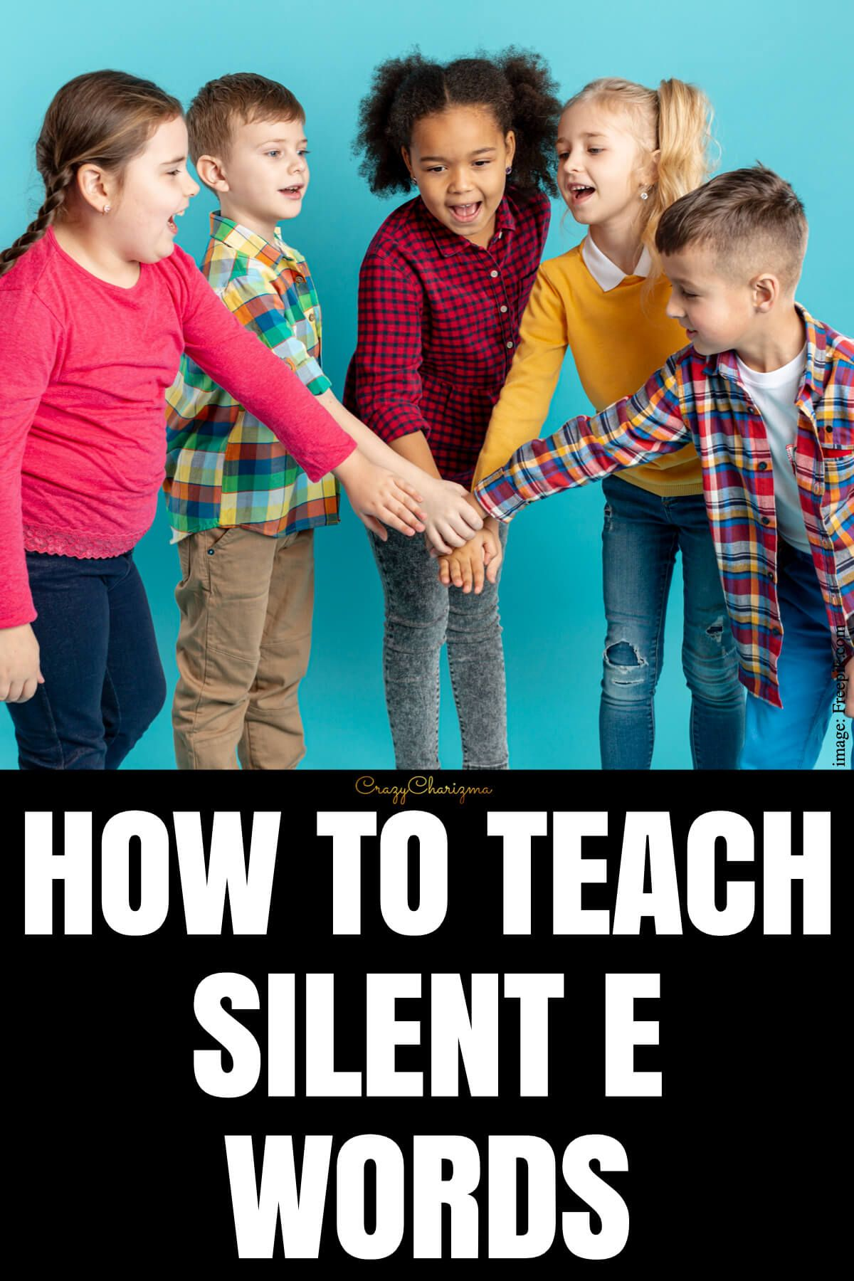 It has so many names: silent E, magic E, super E, sneaky E. No matter how you call the words with silent E, today I'll share my step-by-step process on how to teach silent E words virtually or in the classroom.
