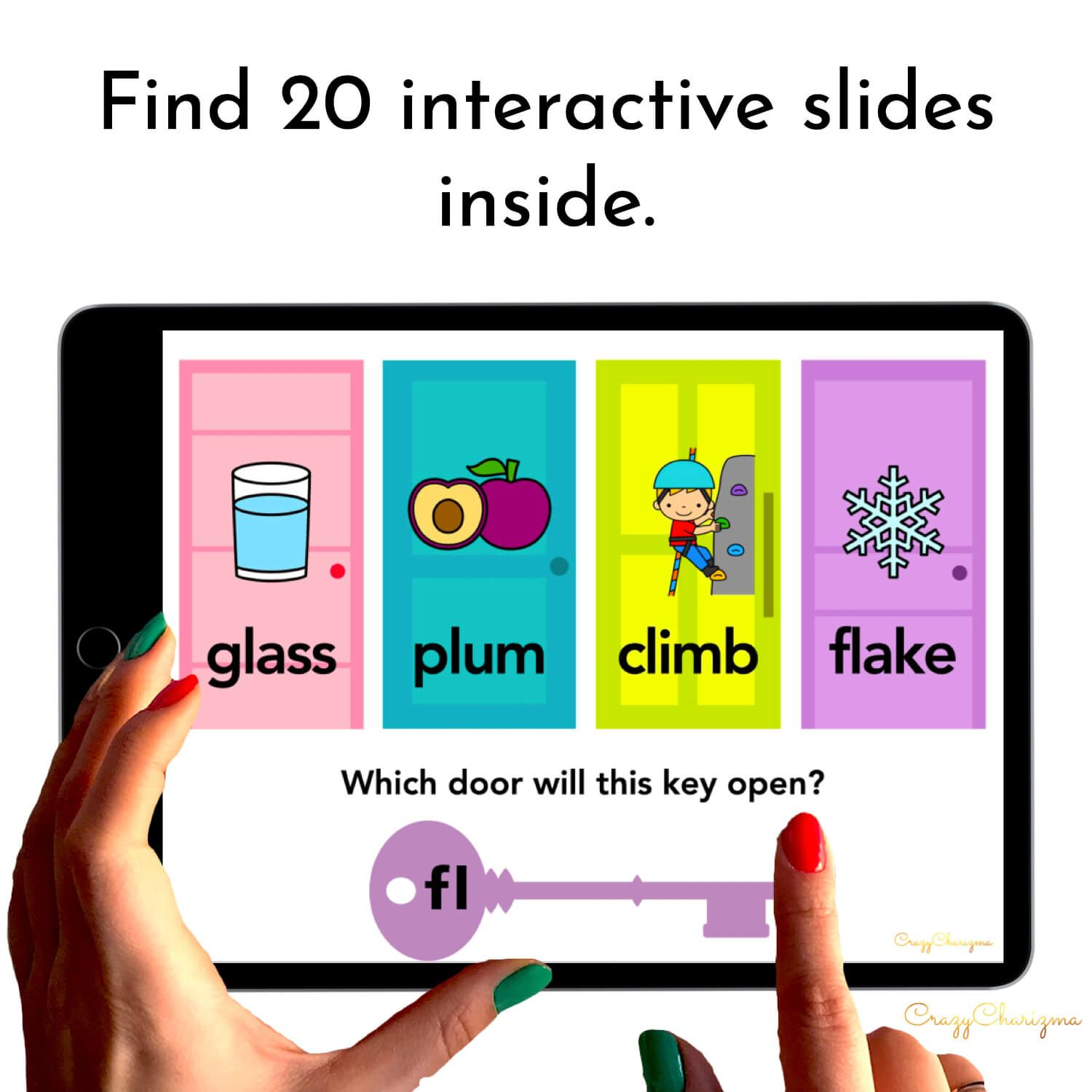 Need to practice beginning L BLENDS in a fun way? Check out these interactive slides for Google Classroom. Kids will read words on doors (images will help too) and drag the key with the blend to open the correct door.