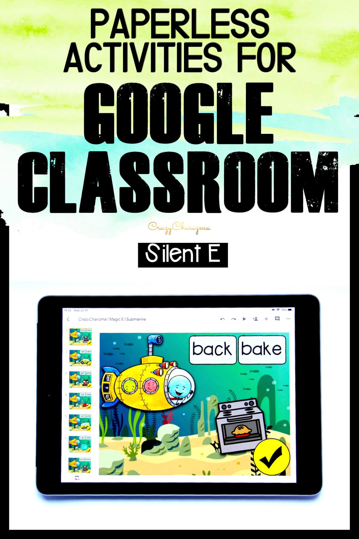 Need cool games to practice magic E? No matter what they call it (silent e or sneaky e), your kids will enjoy these paperless activities. The bundle is perfect for iPads and Chromebooks. Have fun with Google Classroom!