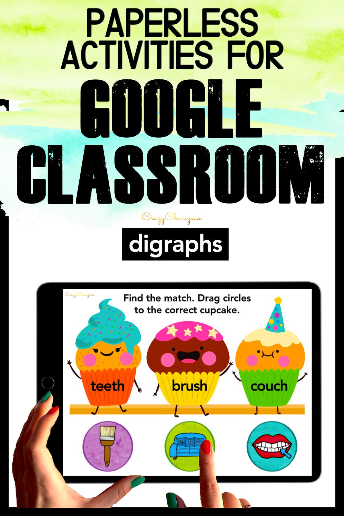 Need to practice beginning and ending digraphs CH, SH, TH in a fun way? Check out these interactive slides for Google Classroom. Kids will match images with words.