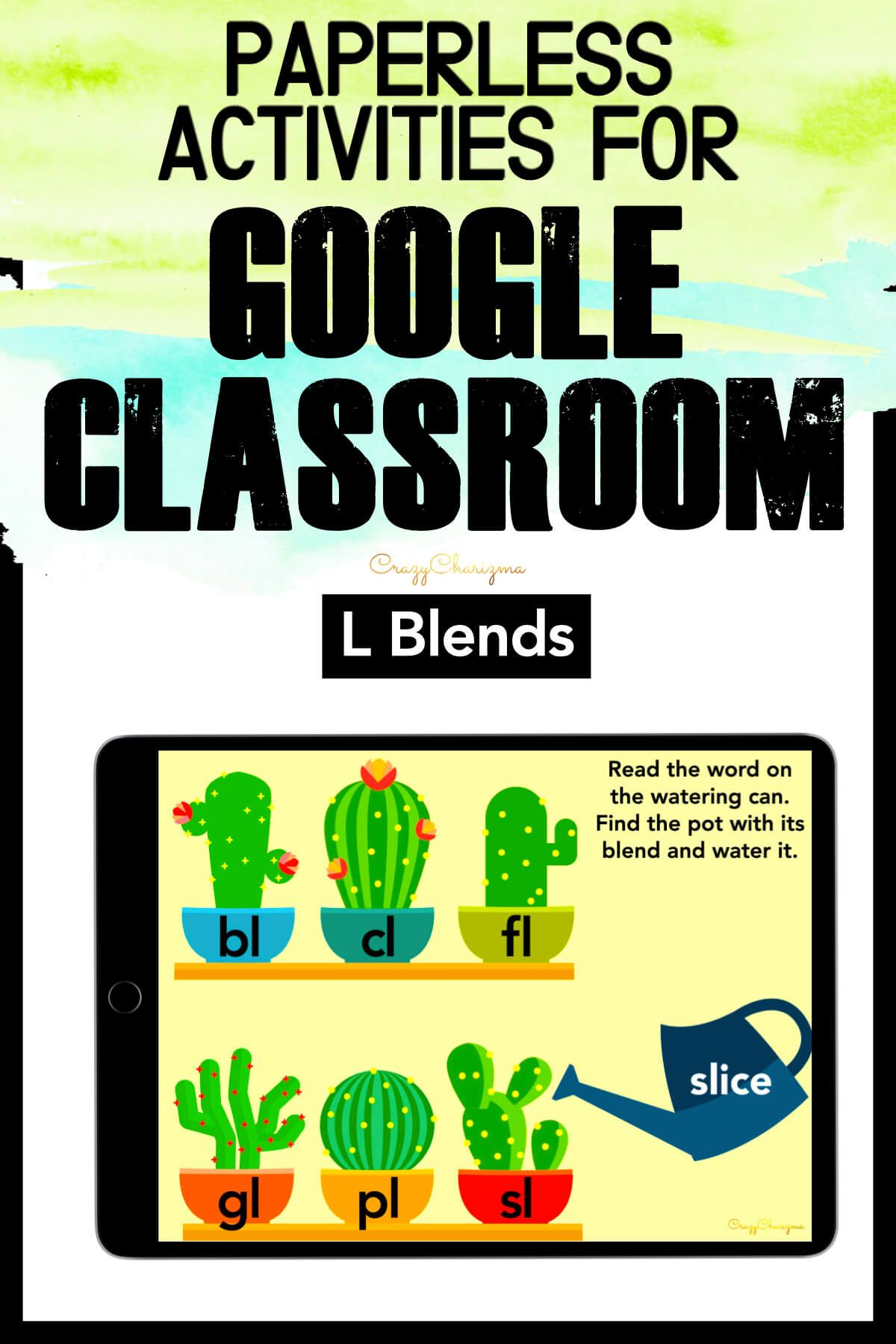 L Blends Activities Google Classroom