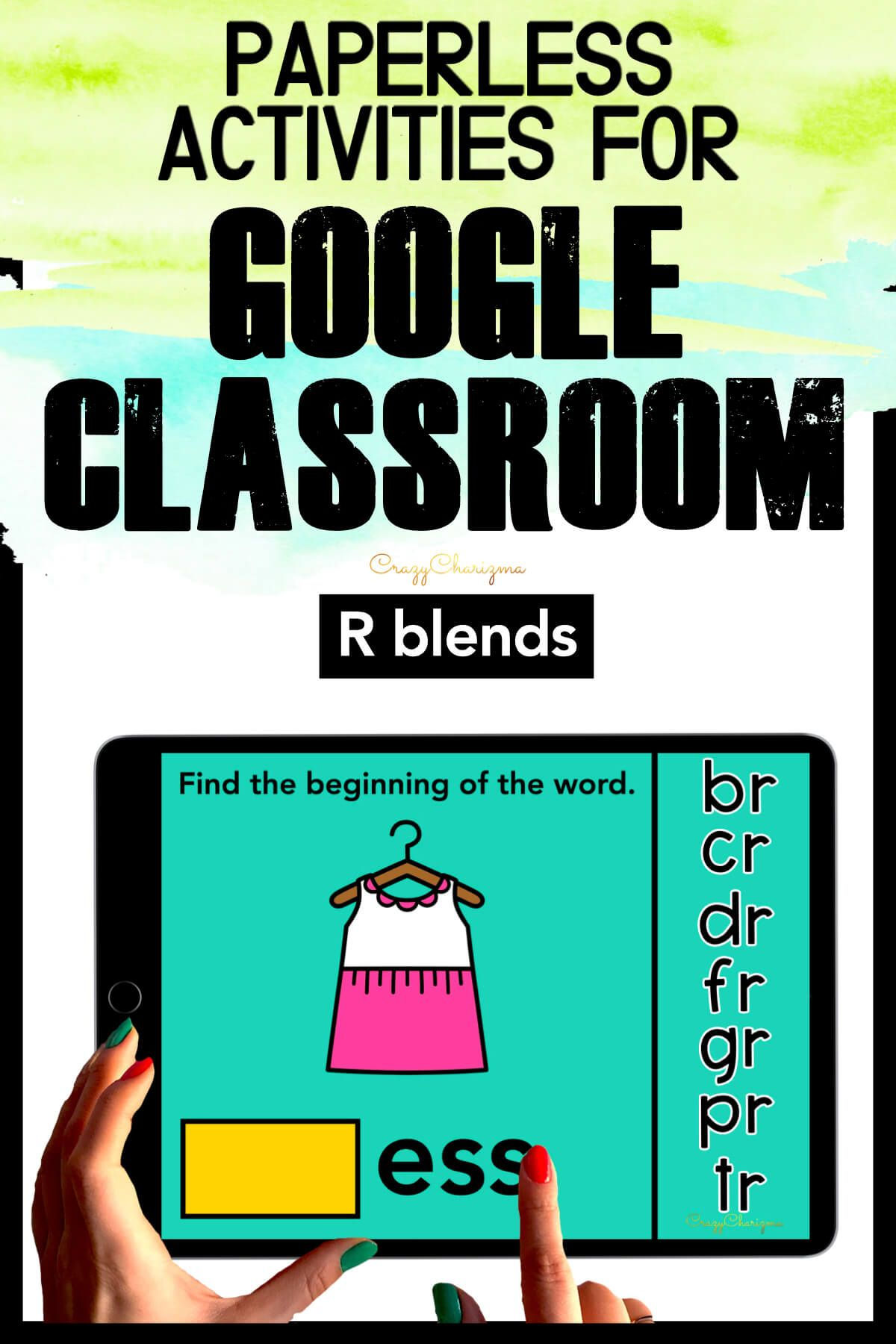 Need to practice beginning R BLENDS in a fun way? Check out these interactive activities for Google Classroom. Kids will drag blends and build the word (images will help).