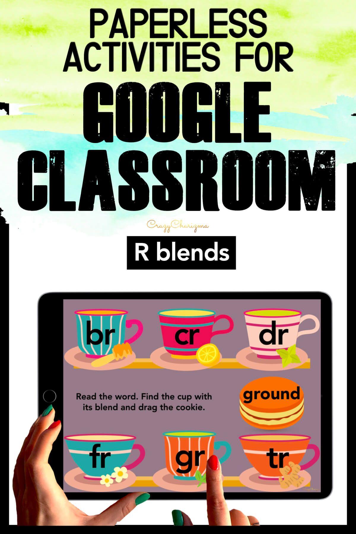 R Blends Activities Google Classroom