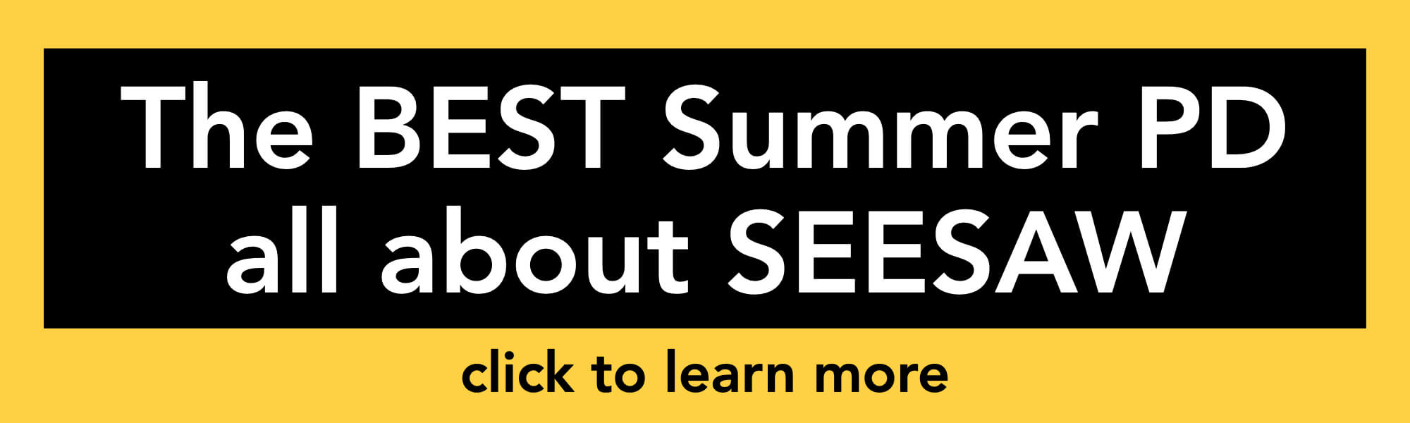 Summer PD about Seesaw