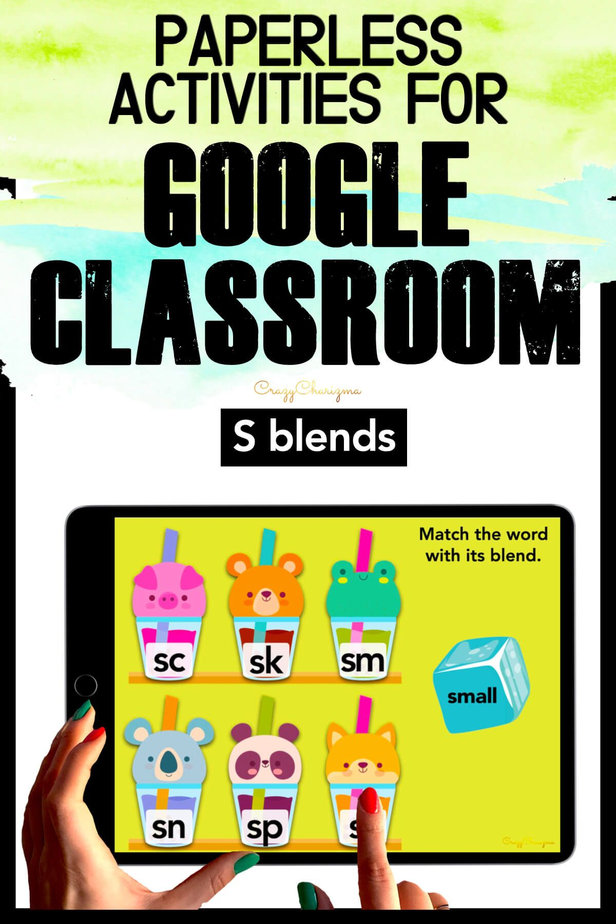 Need to practice beginning S BLENDS in a fun way? Check out these interactive activities for Google Classroom. Kids will drag the word to the correct blend.